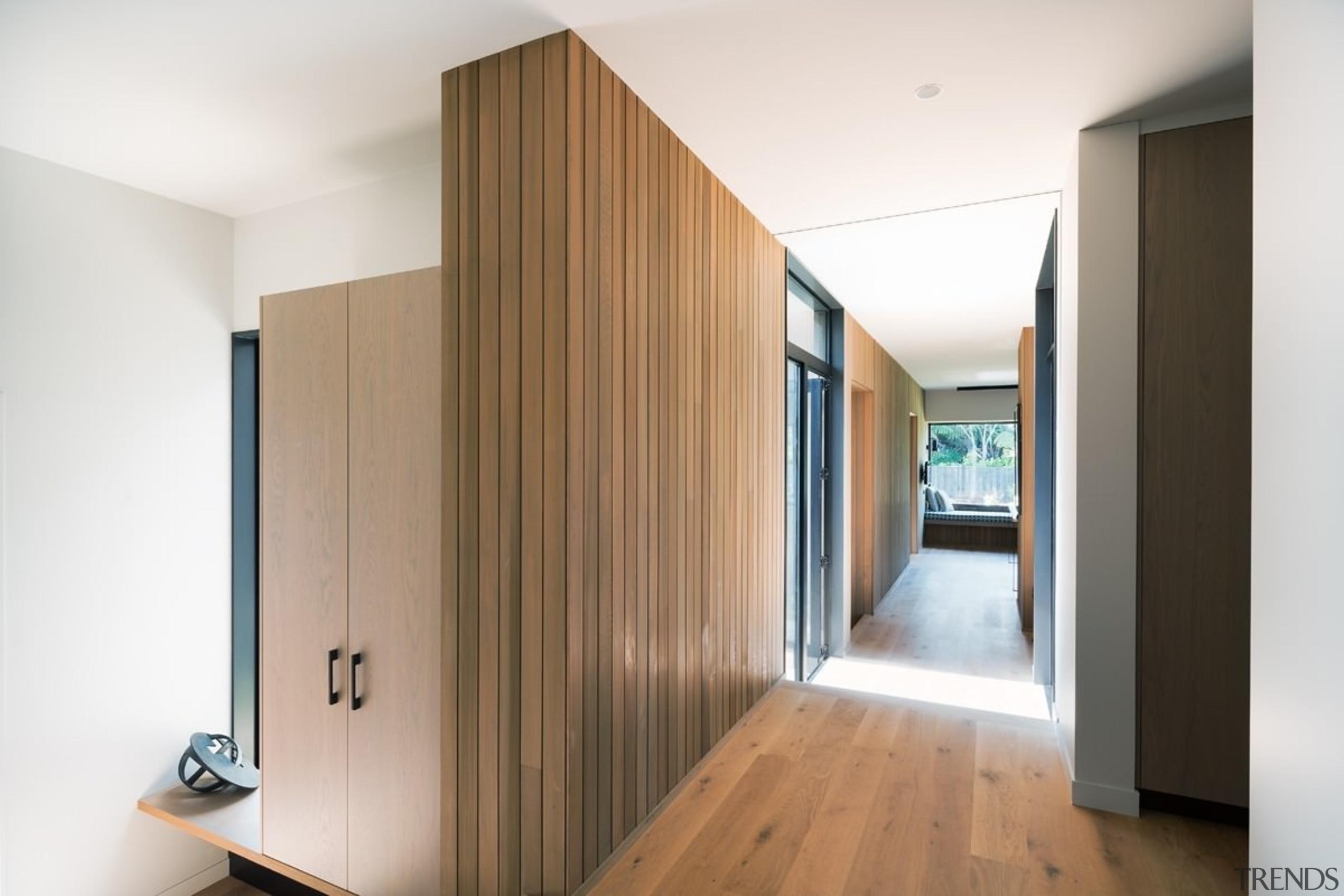 Cedar runs inside and out - Cedar runs architecture, floor, flooring, hardwood, house, interior design, real estate, room, wood, wood flooring, white