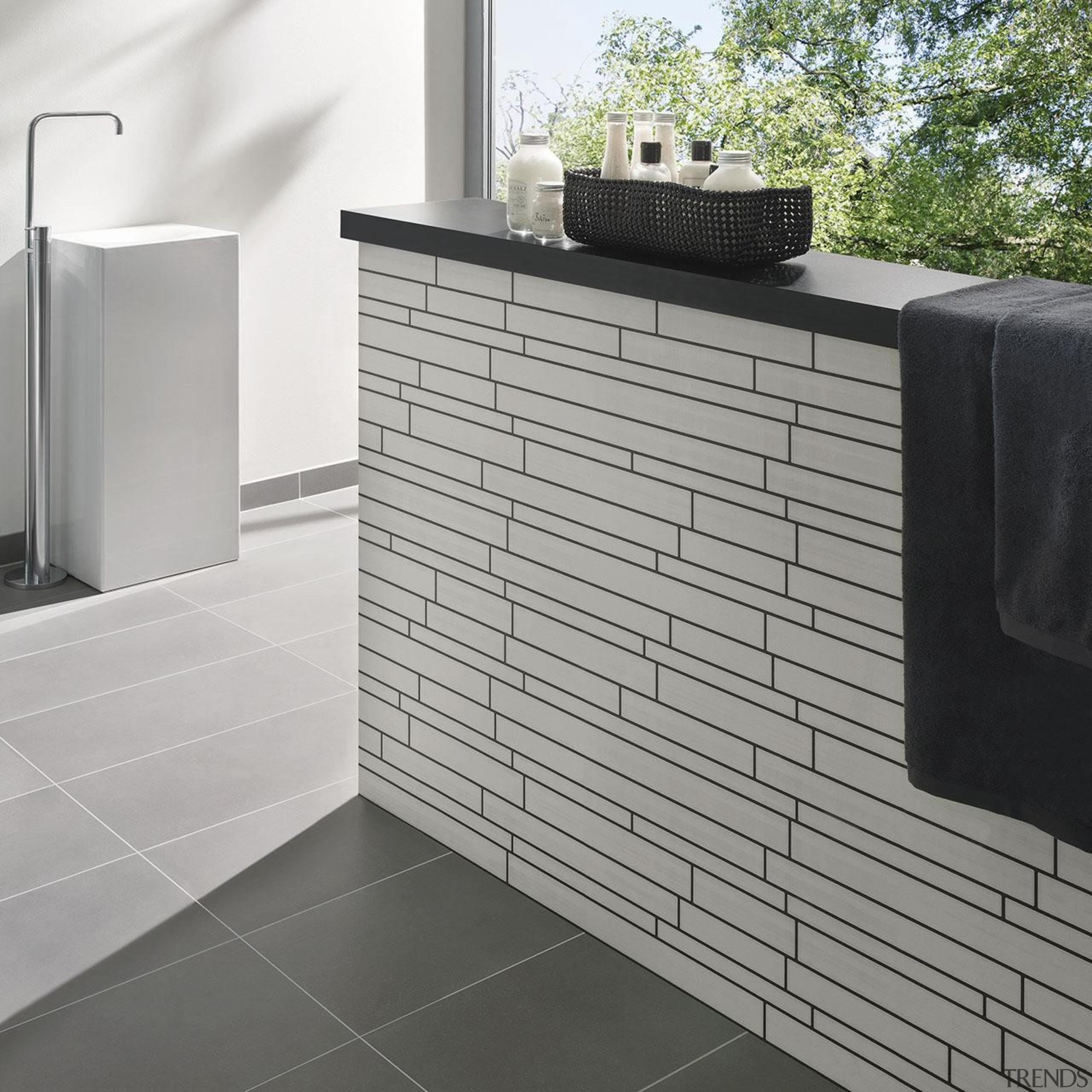 Modern Style Range - floor | flooring | floor, flooring, furniture, product, product design, tile, wall, gray, white