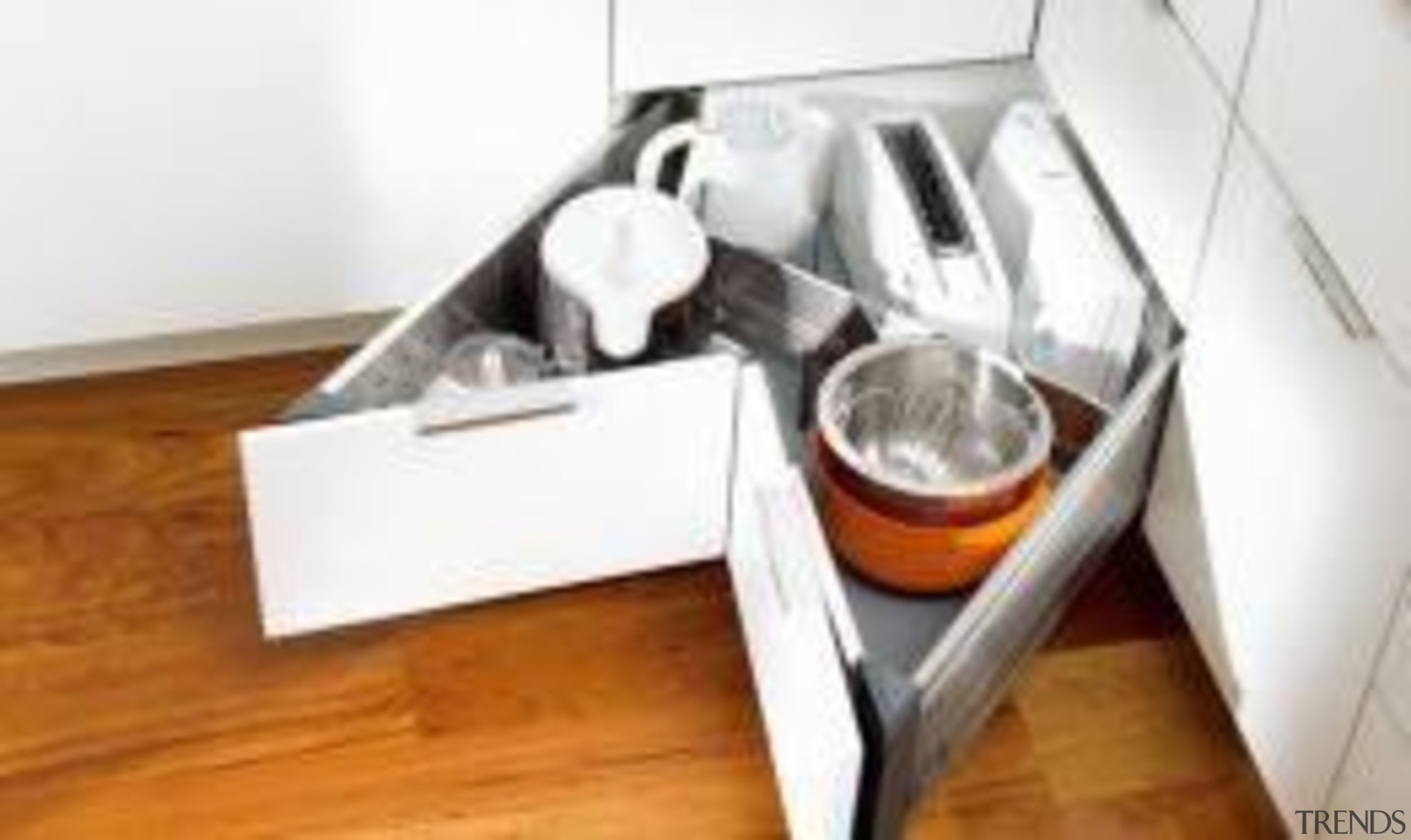 Make the most of tough to get into cutlery, drawer, furniture, product, product design, table, tableware, white