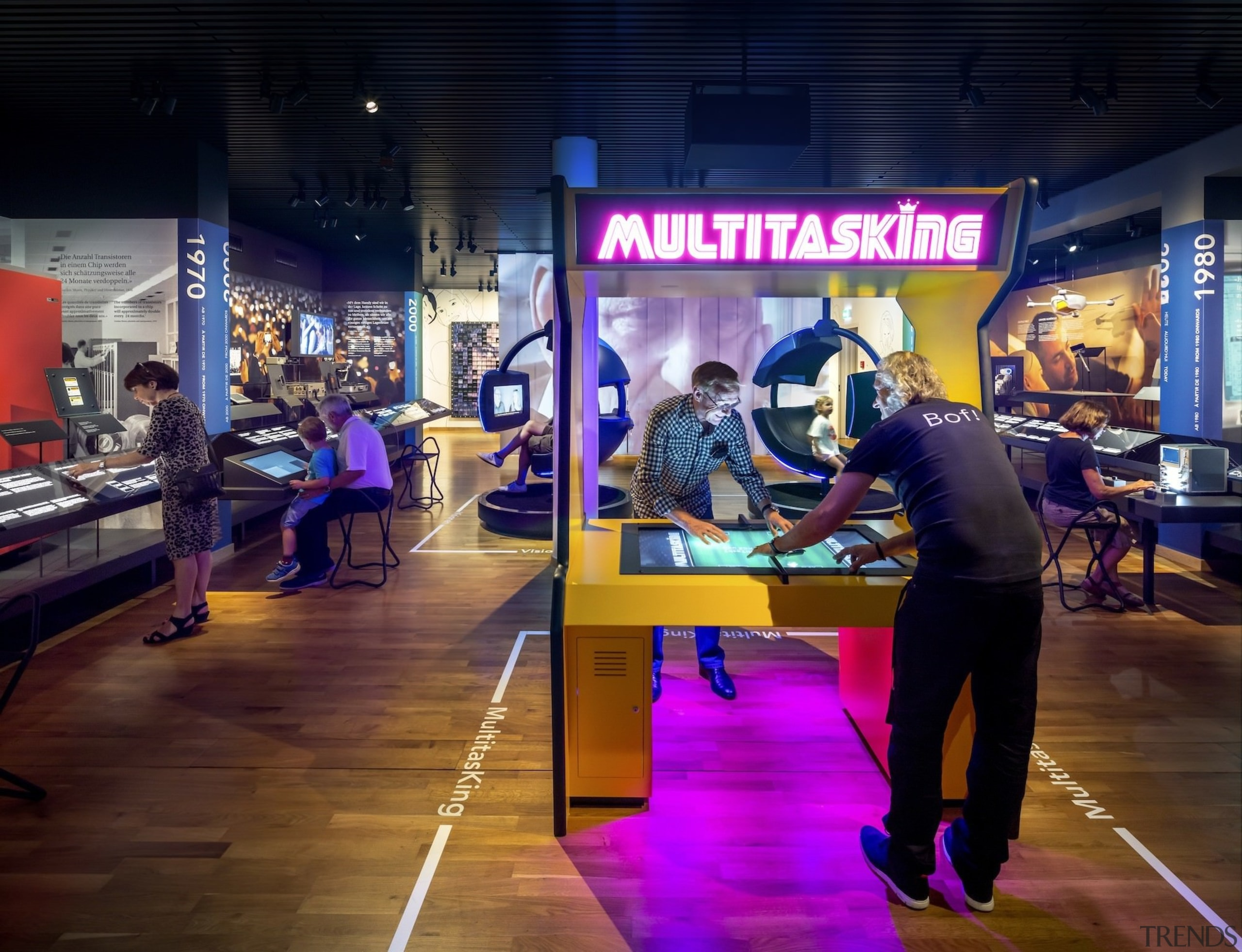 The new permanent exhibition at the Museum of technology, tourist attraction