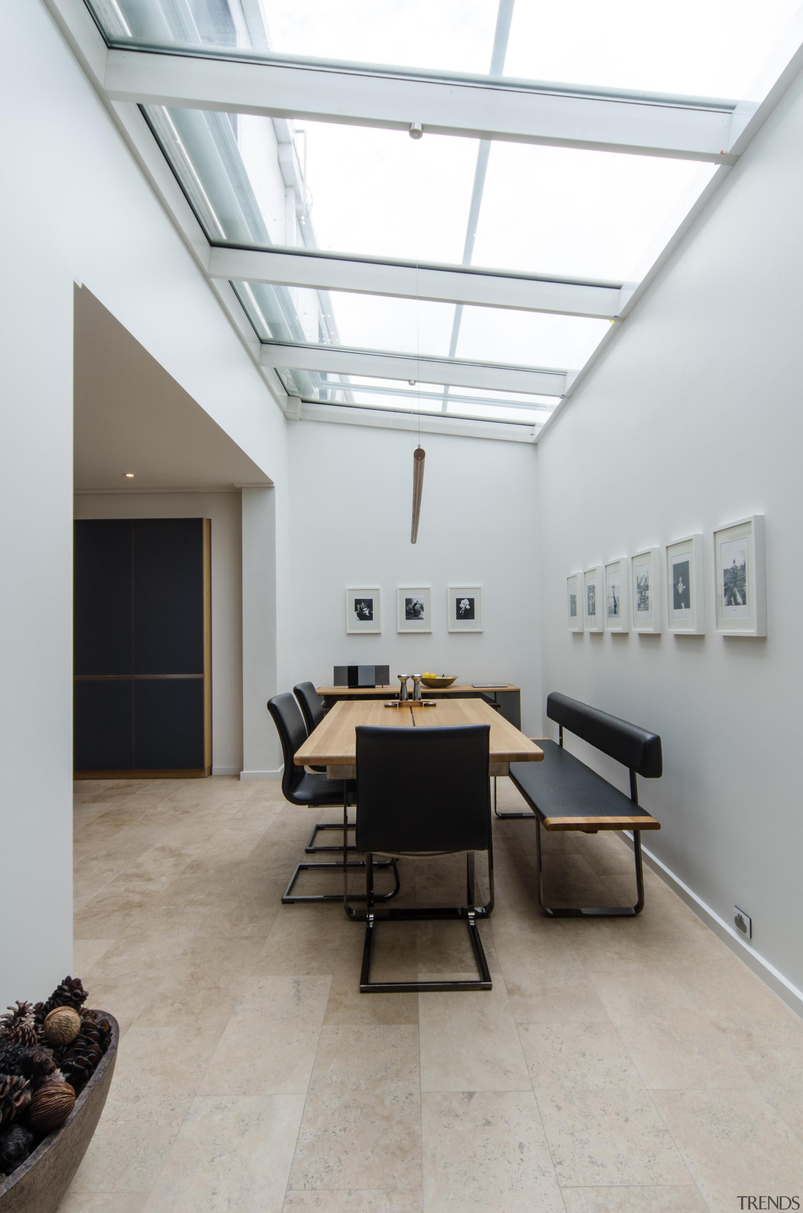 Pepper Design - Team 7 Kitchen - architecture architecture, ceiling, daylighting, floor, flooring, house, interior design, loft, gray, white