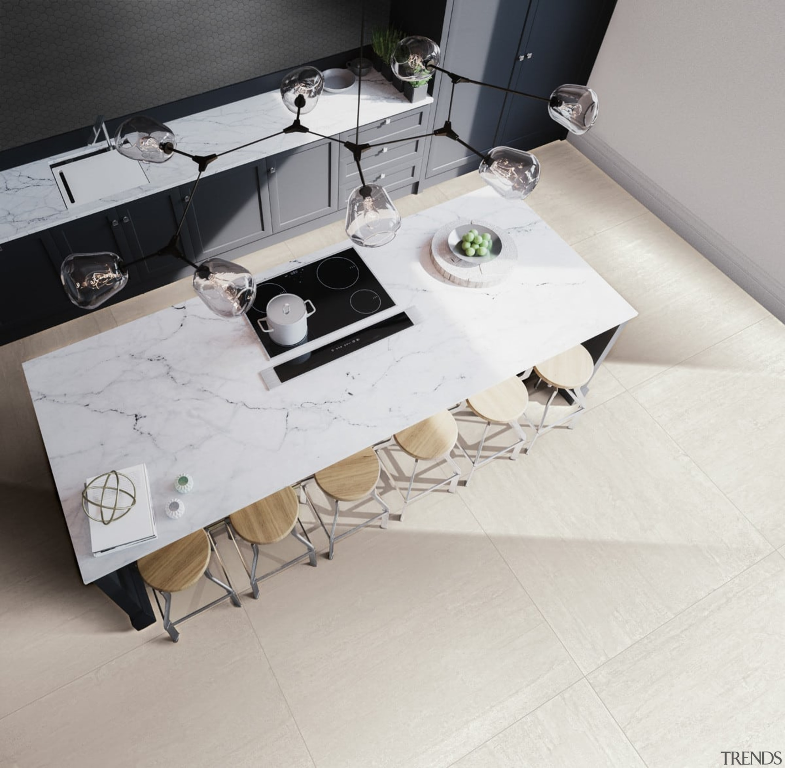 Beton Axis White Matt - Beton Axis White coffee table, floor, flooring, furniture, product, table, gray