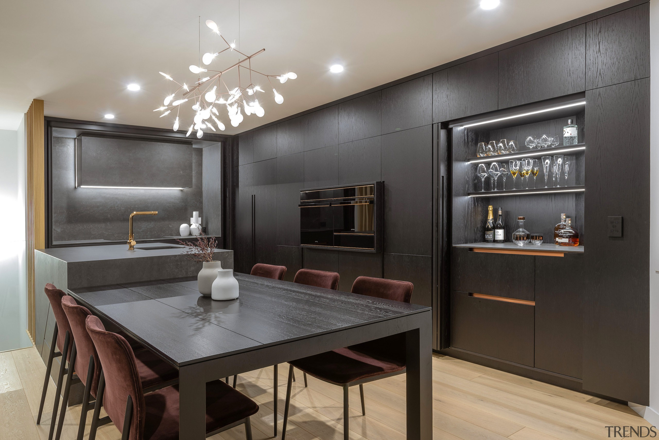 This major transformation of a dated kitchen greatly