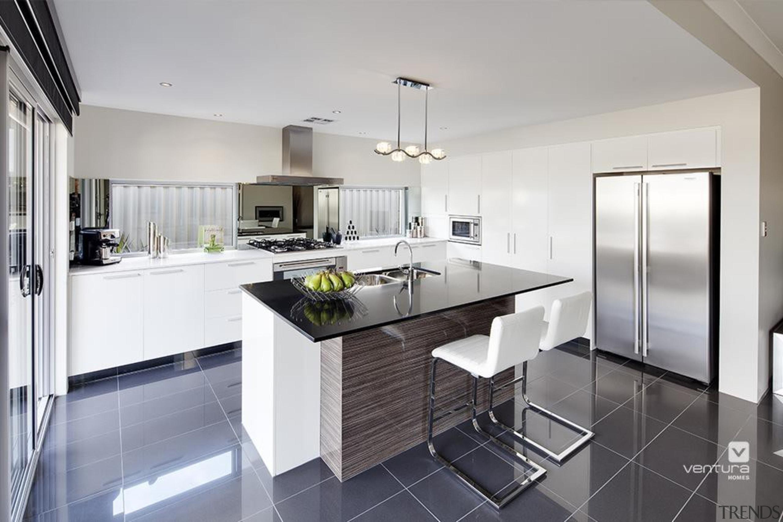 Kitchen design. - The Paramount Display Home - architecture, countertop, cuisine classique, interior design, kitchen, real estate, room, gray