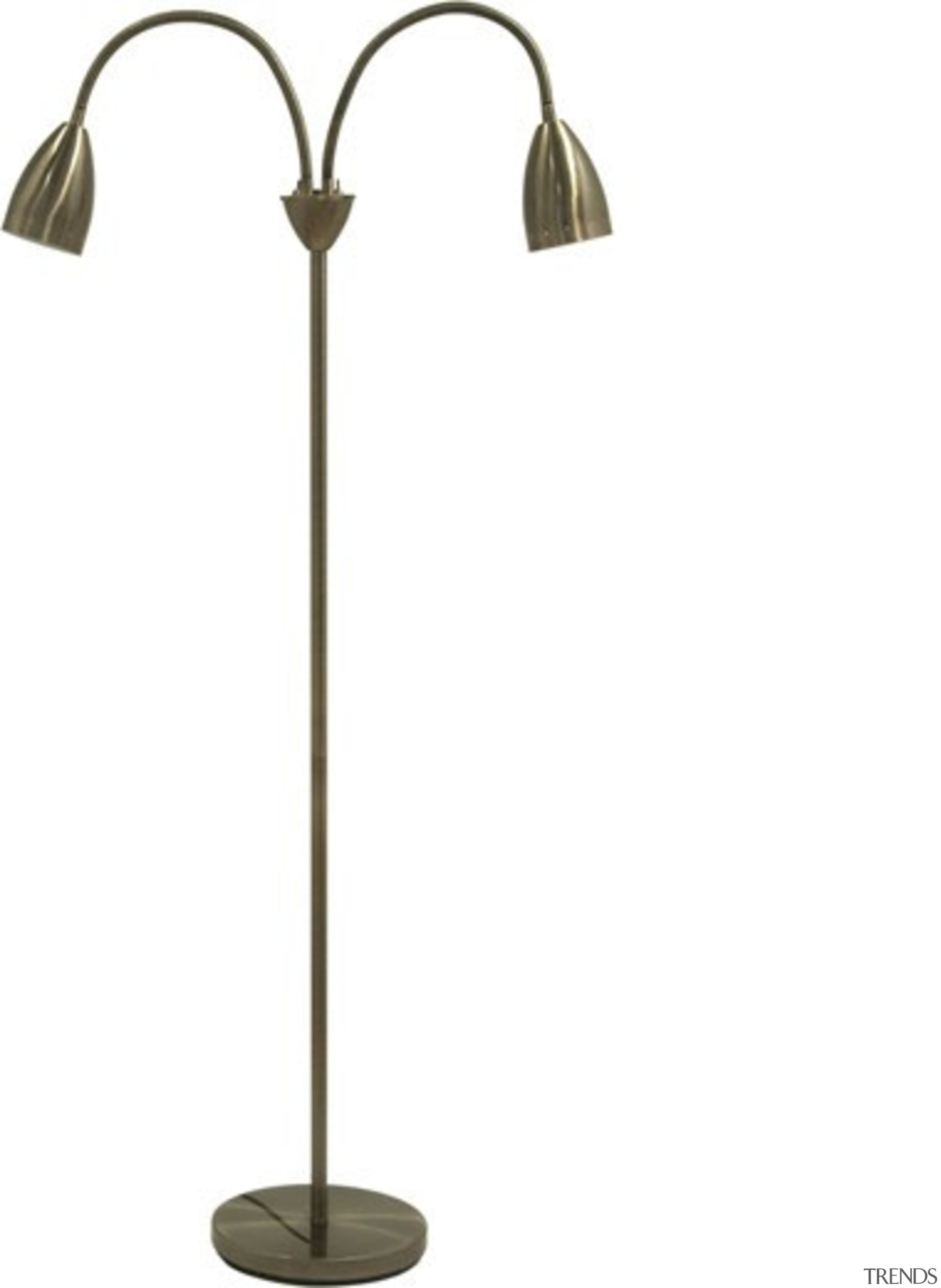 FeaturesA classic style task/reading floor lamp with 2 ceiling fixture, lamp, light fixture, lighting, product design, white