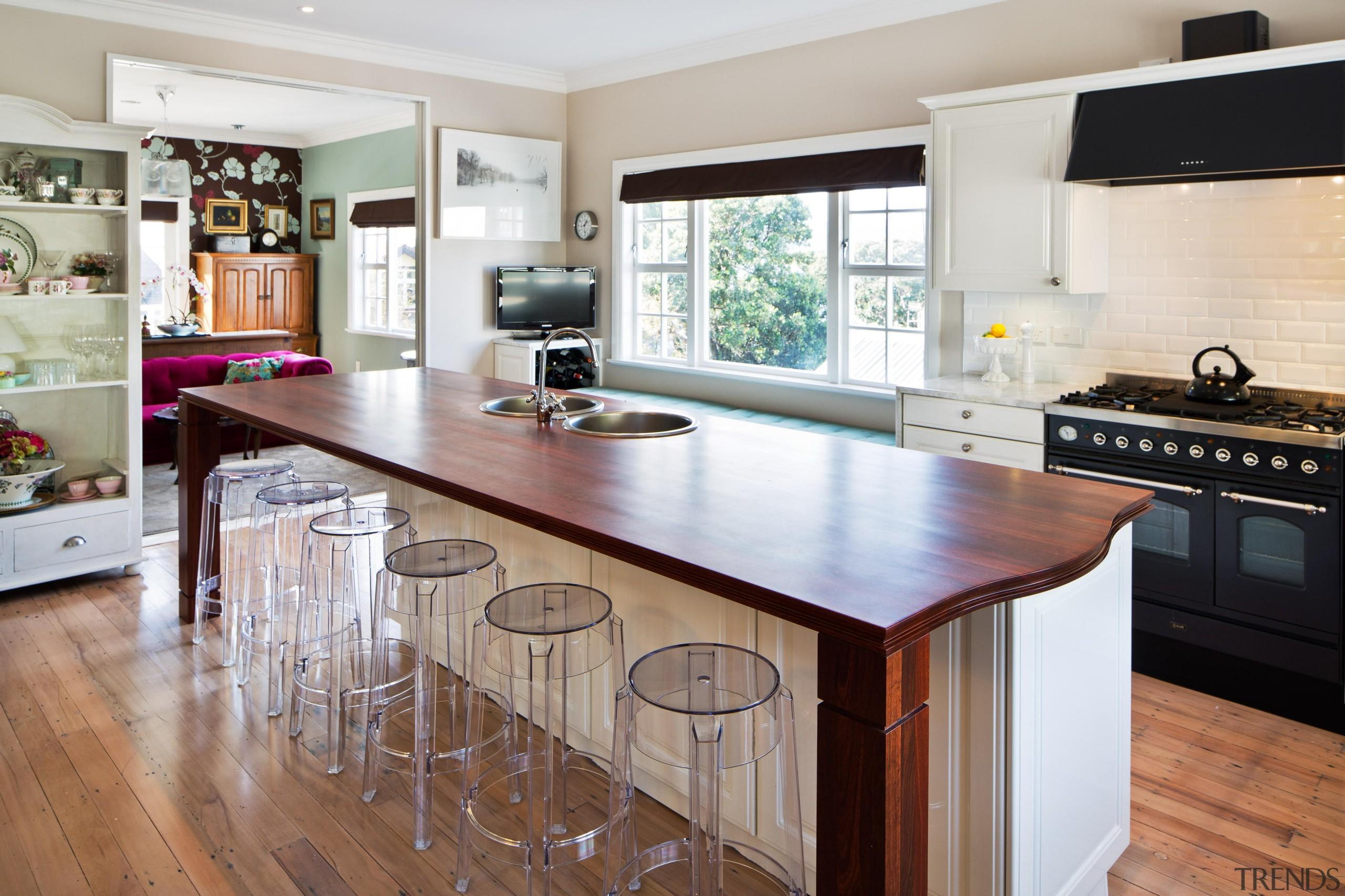 burnham17.jpg - burnham17.jpg - cabinetry   countertop   cabinetry, countertop, cuisine classique, floor, flooring, hardwood, interior design, kitchen, laminate flooring, real estate, room, wood flooring, gray, white