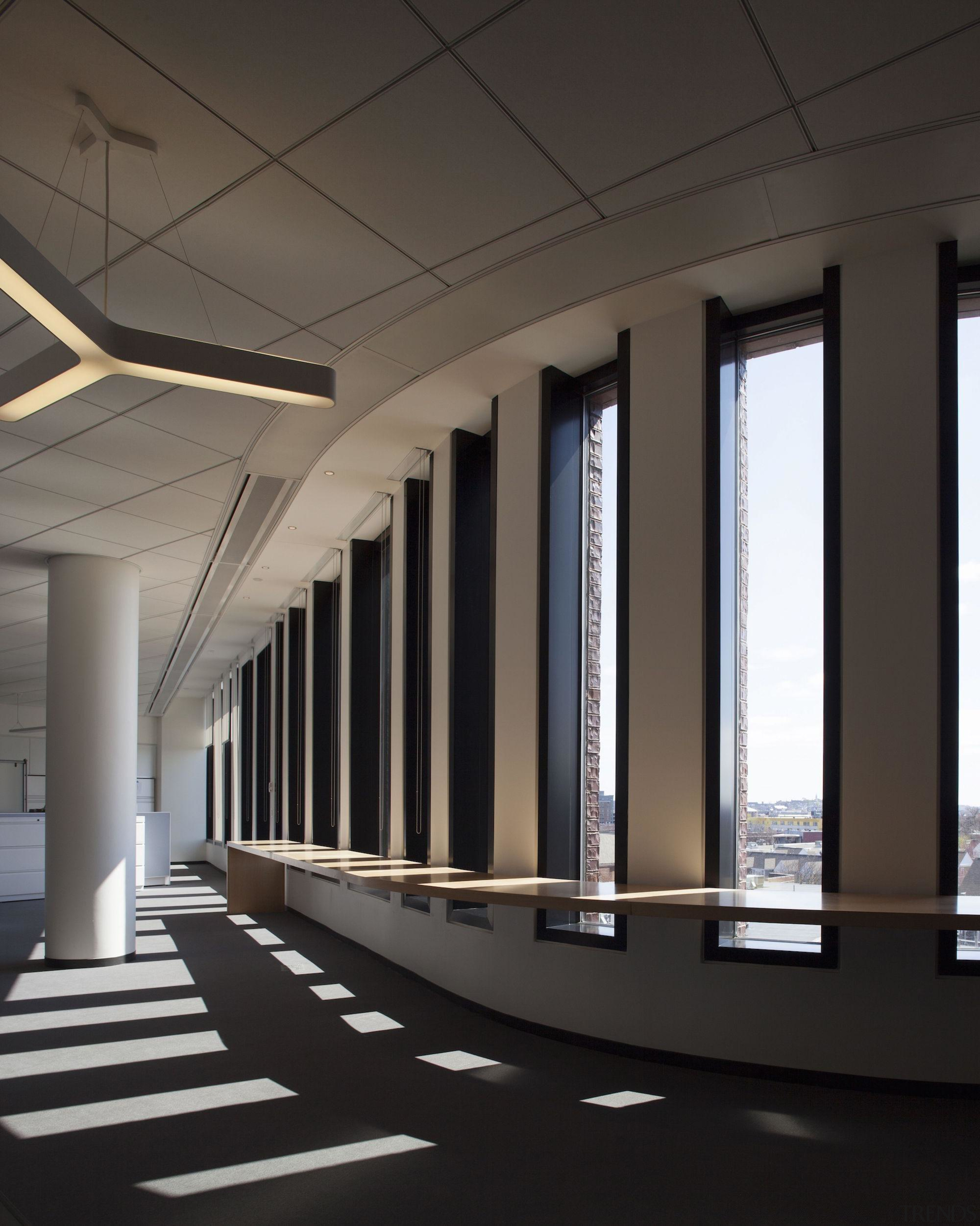 Bruce C. Bolling Municipal Building - Bruce C. architecture, ceiling, daylighting, structure, black, gray