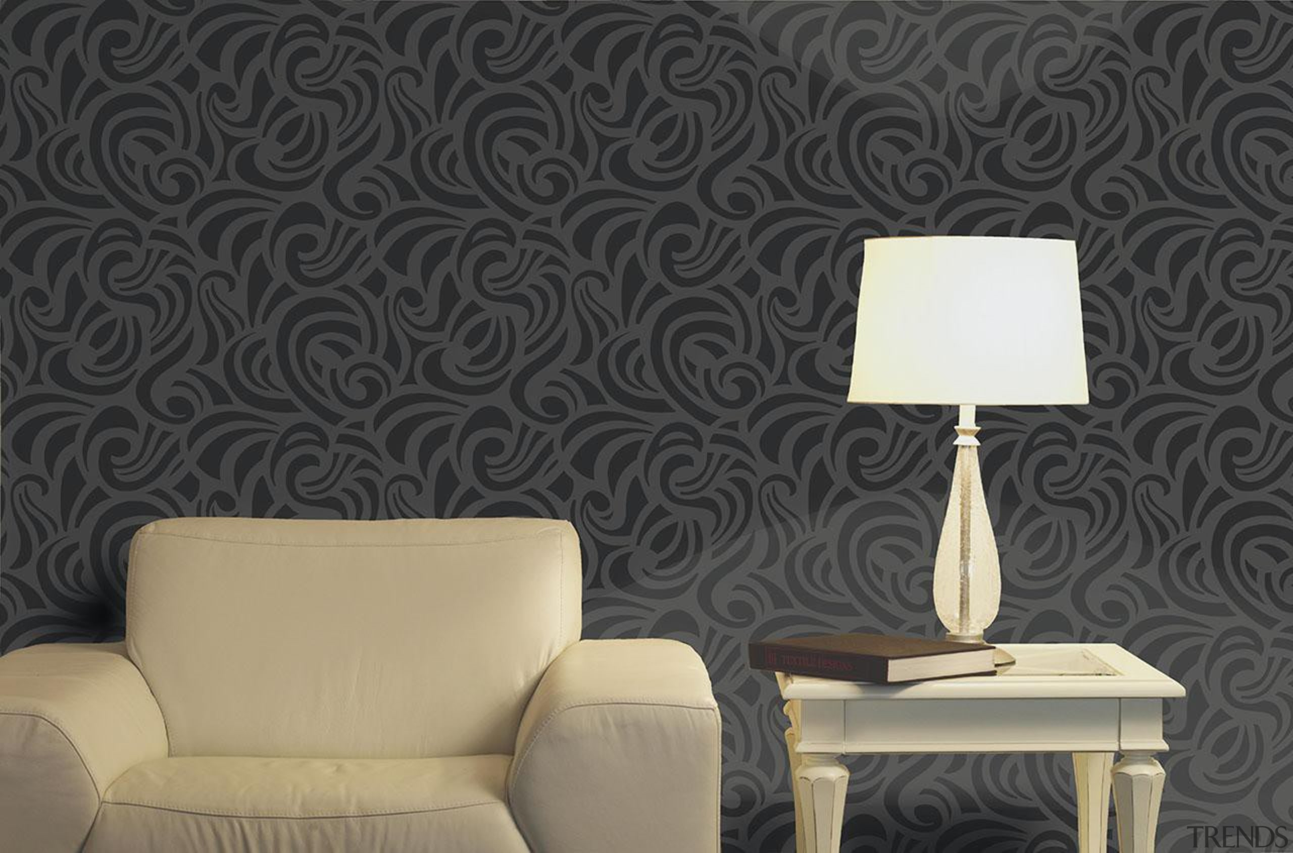 Bloomsbury House - Bloomsbury House Range - interior interior design, pattern, wall, wallpaper, black