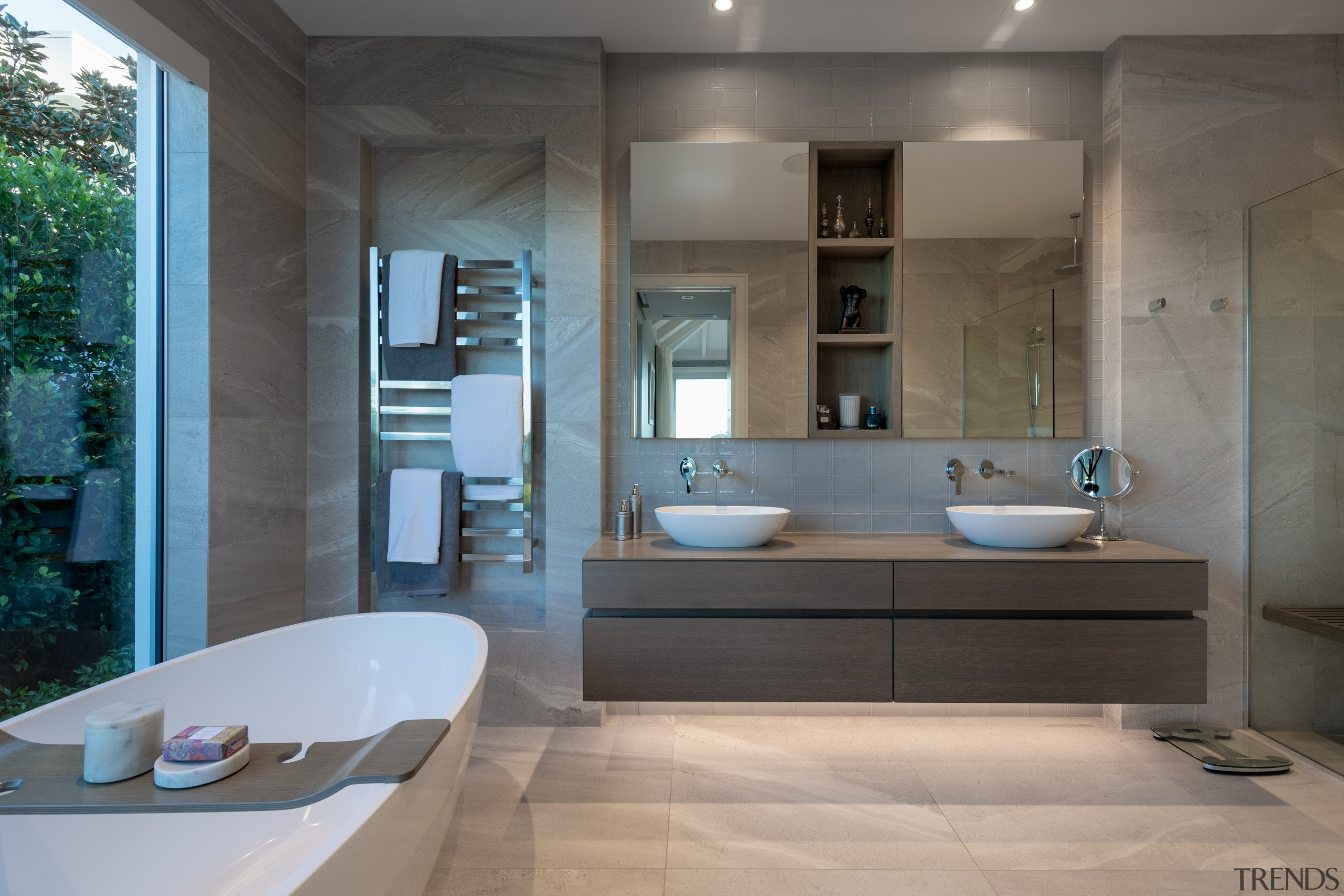 The main bathroom in this home by house