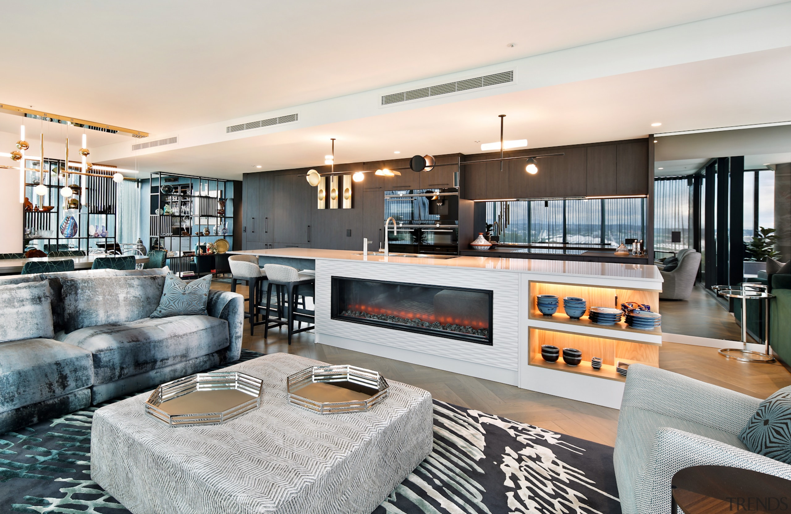 A total revamp of a Melbourne apartment included