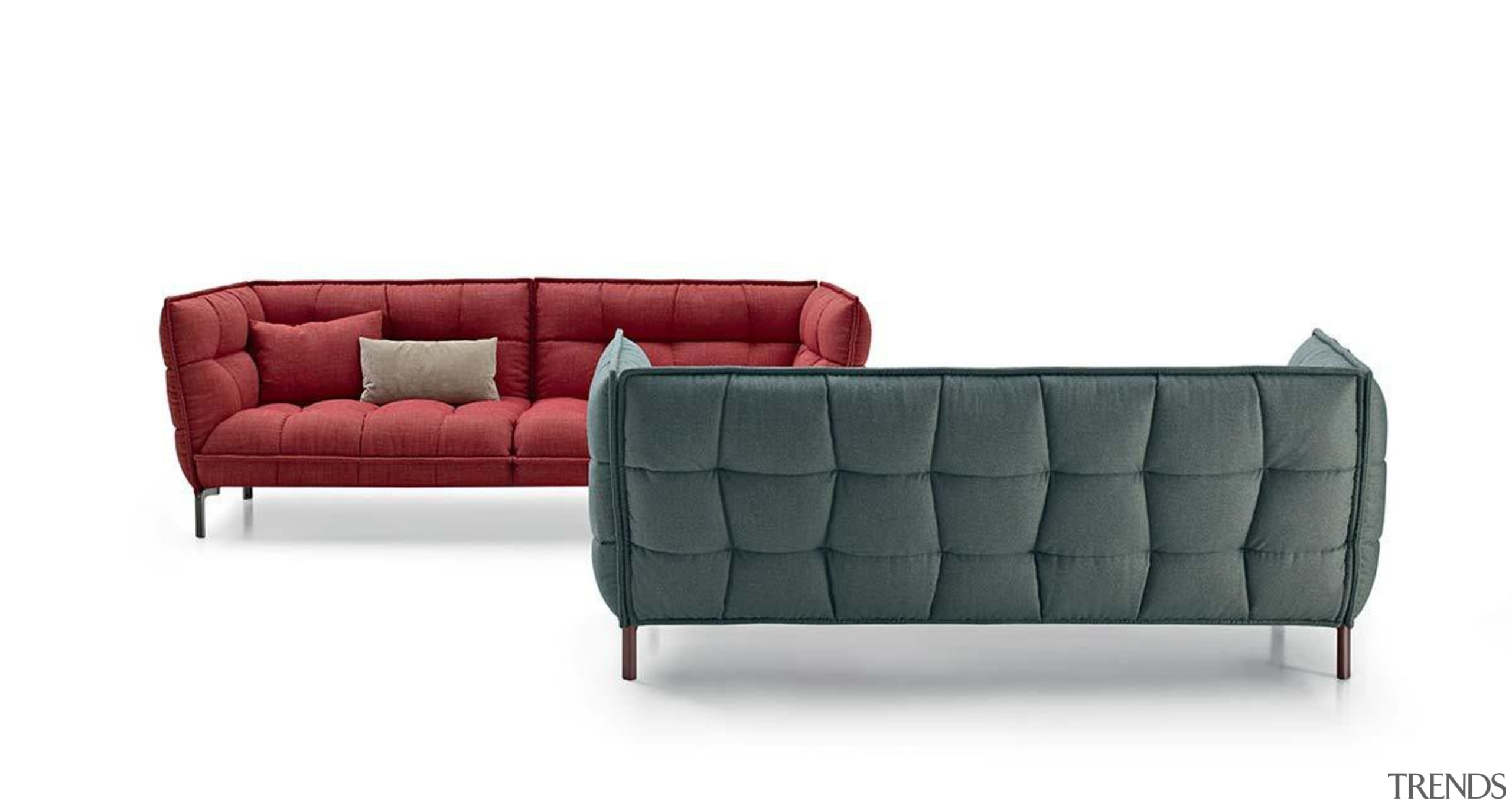 Husk sofa by Patricia Urquiola for B&B Italia angle, couch, furniture, loveseat, product, product design, sofa bed, white