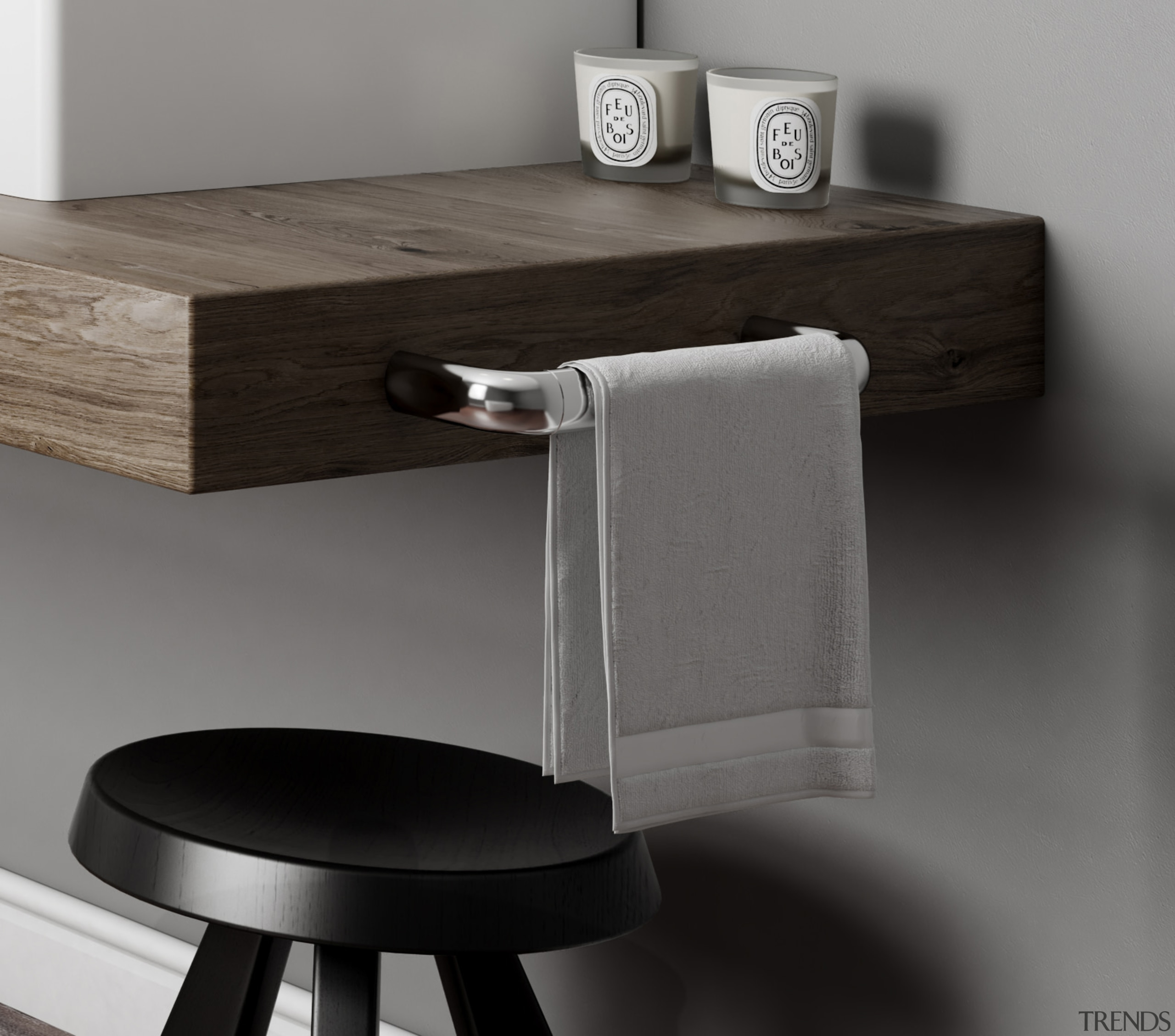 • 5 year warranty• Italian design• Solid Brass angle, desk, furniture, product, table, tap, gray, black