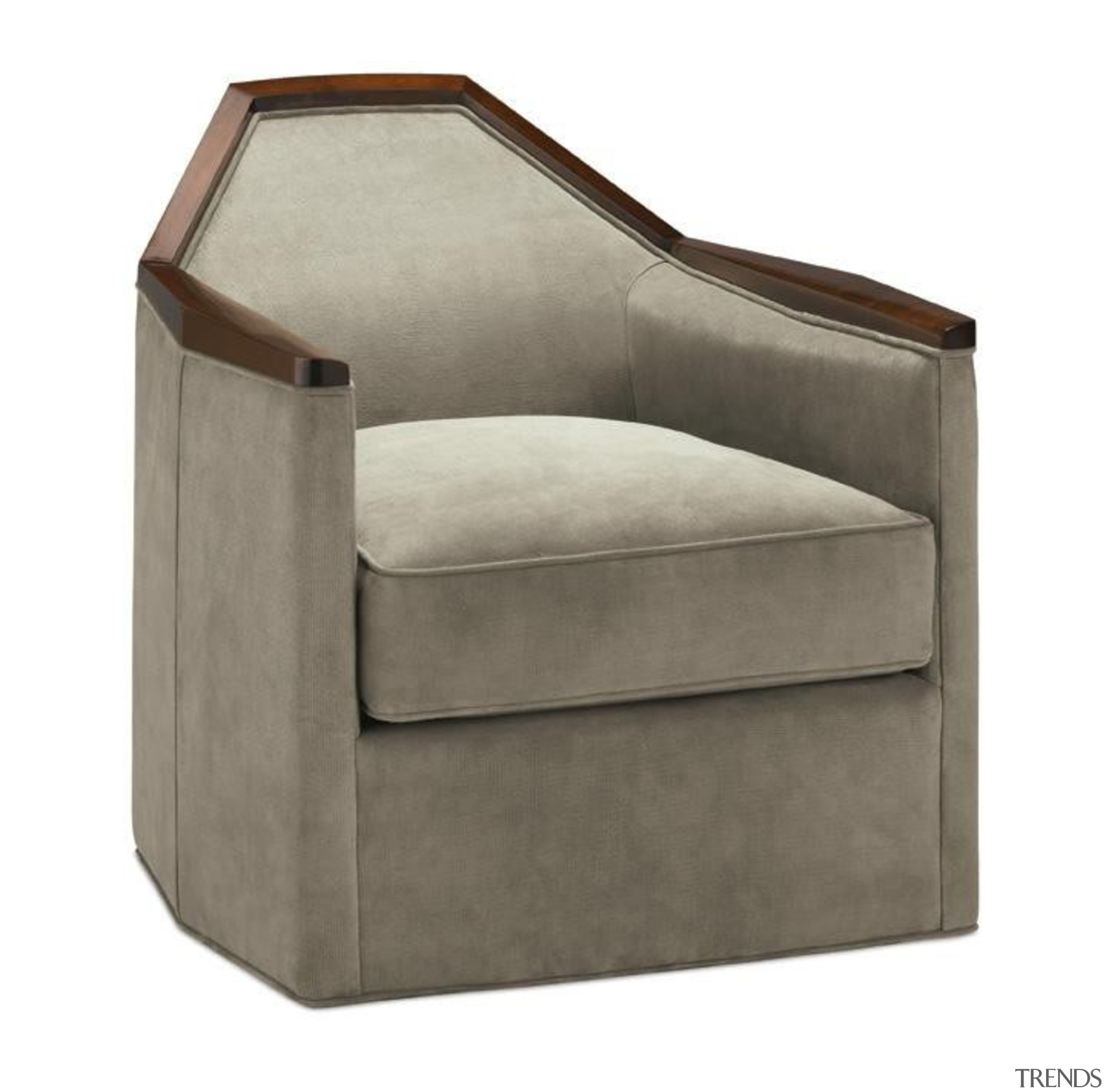 The work of William Sofield is defined not angle, chair, club chair, furniture, product, product design, white, gray