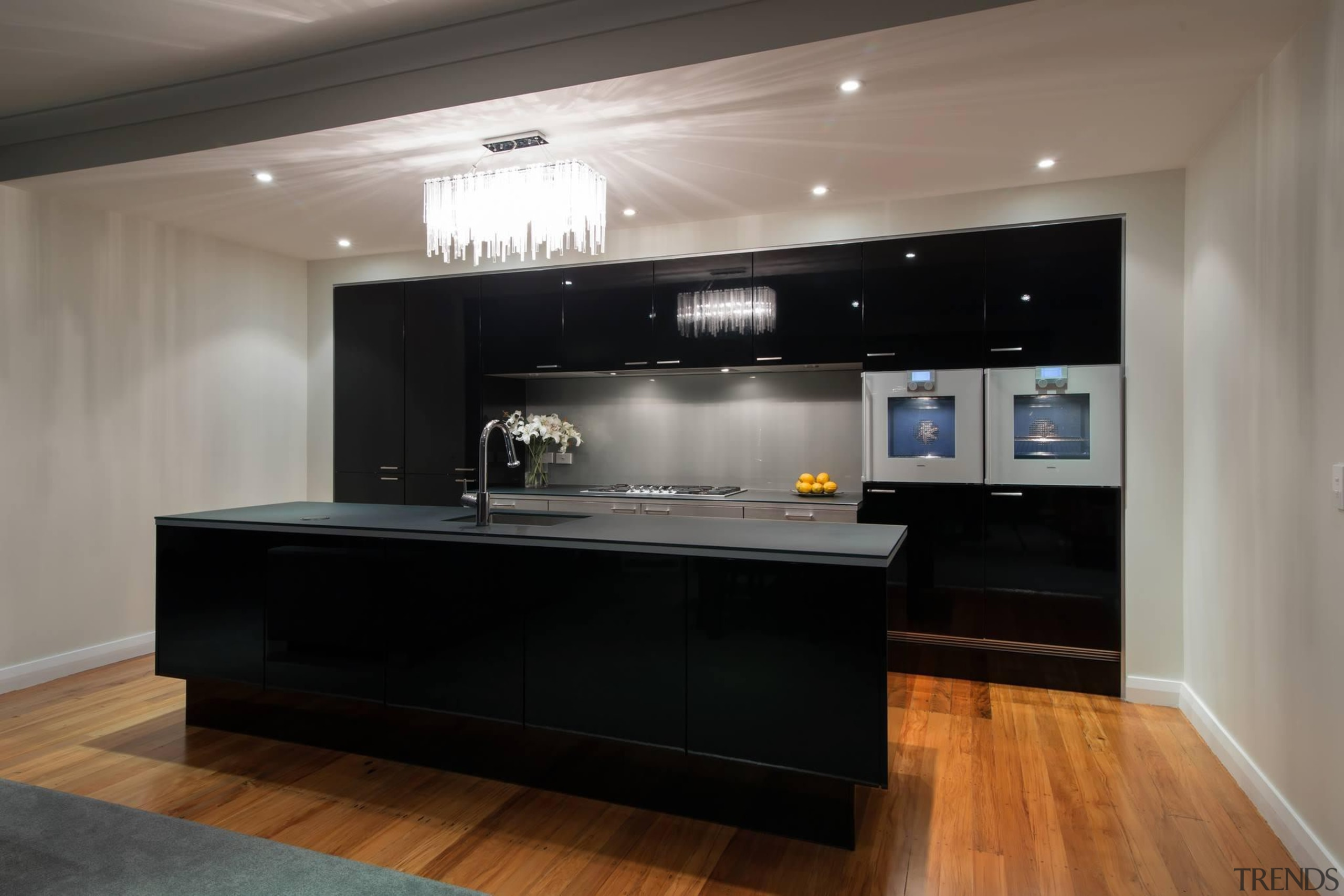 Our Poggenpohl + INTEGRATION kitchenFor more information, please cabinetry, countertop, interior design, kitchen, room, gray, black