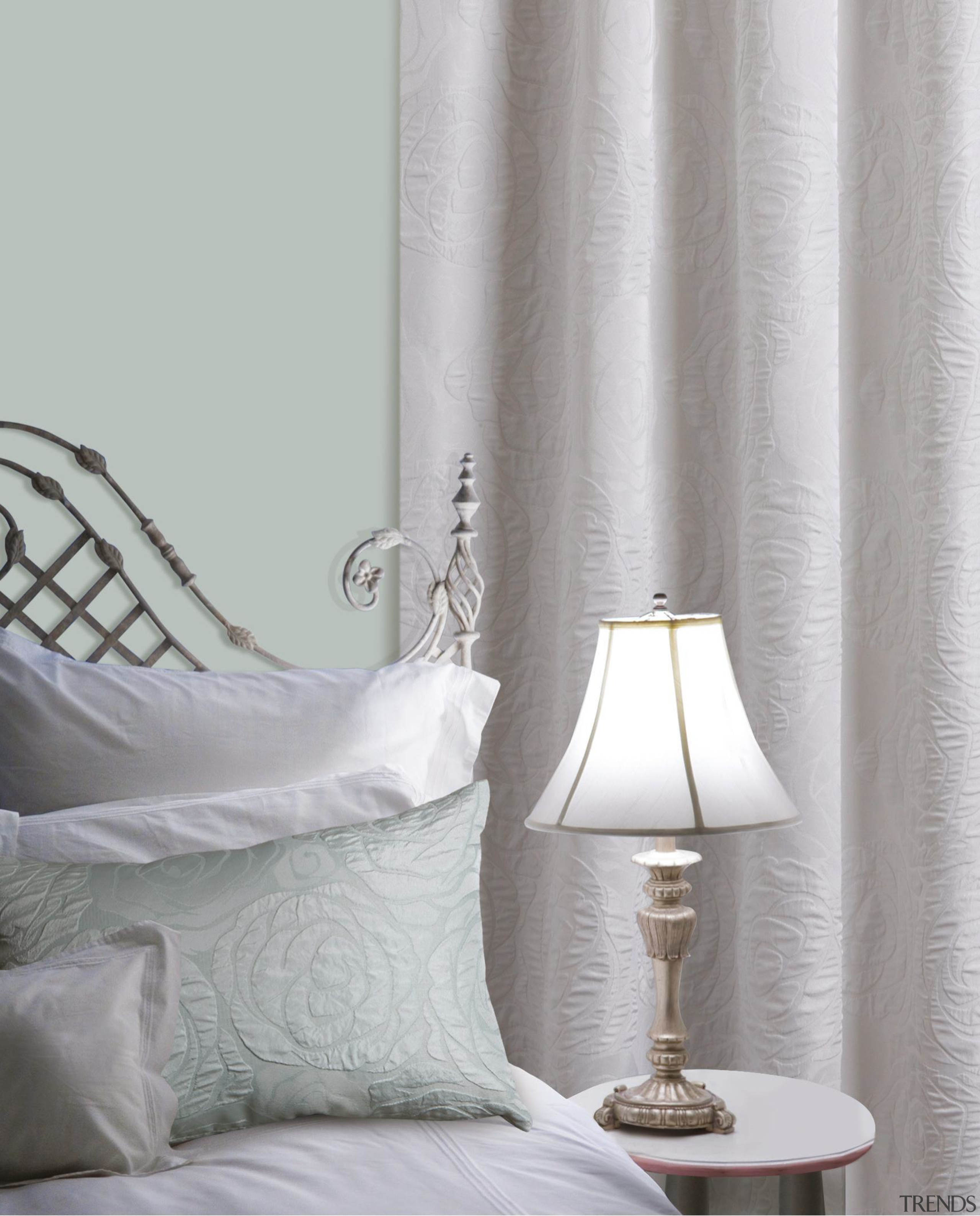 Waltz - bedroom | curtain | decor | bedroom, curtain, decor, interior design, textile, window covering, window treatment, gray
