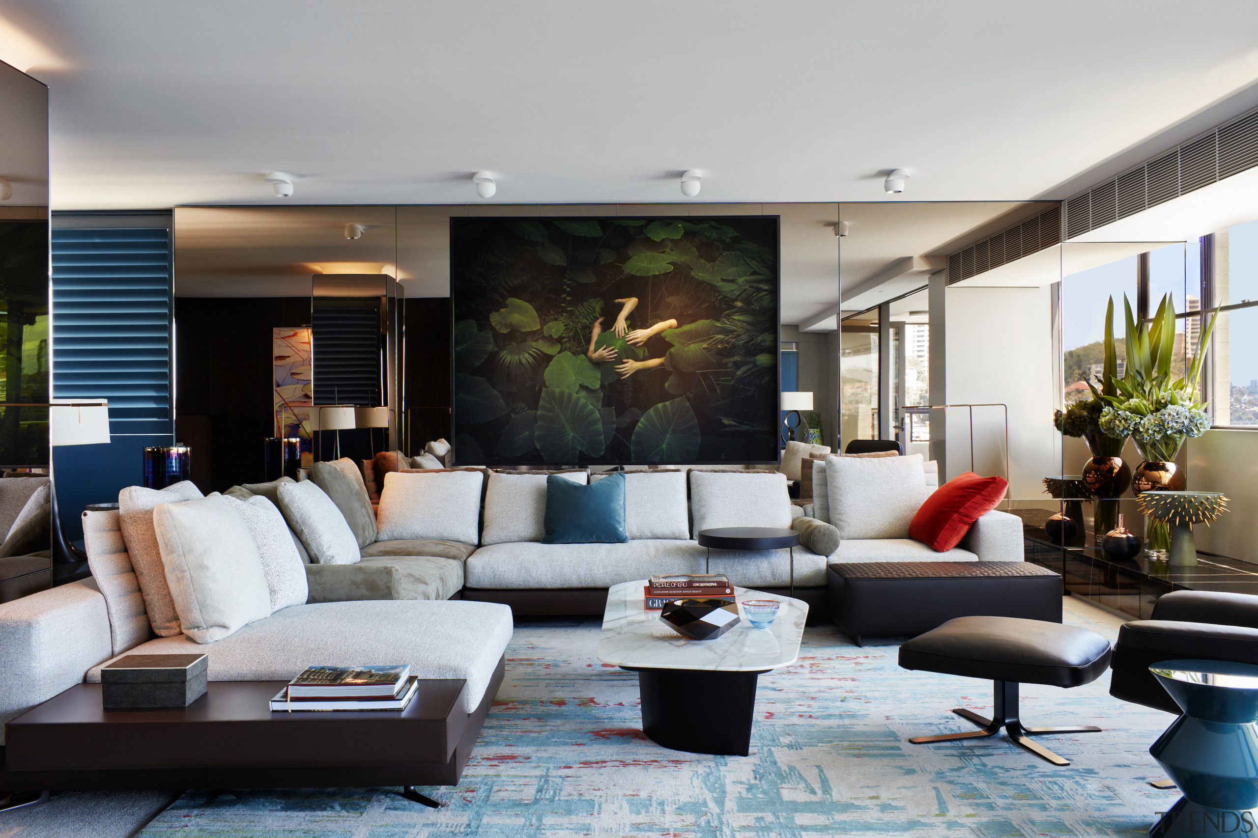 Finalist – Archer Design – 2018 TIDA Australia furniture, home, interior design, living room, room, gray, black