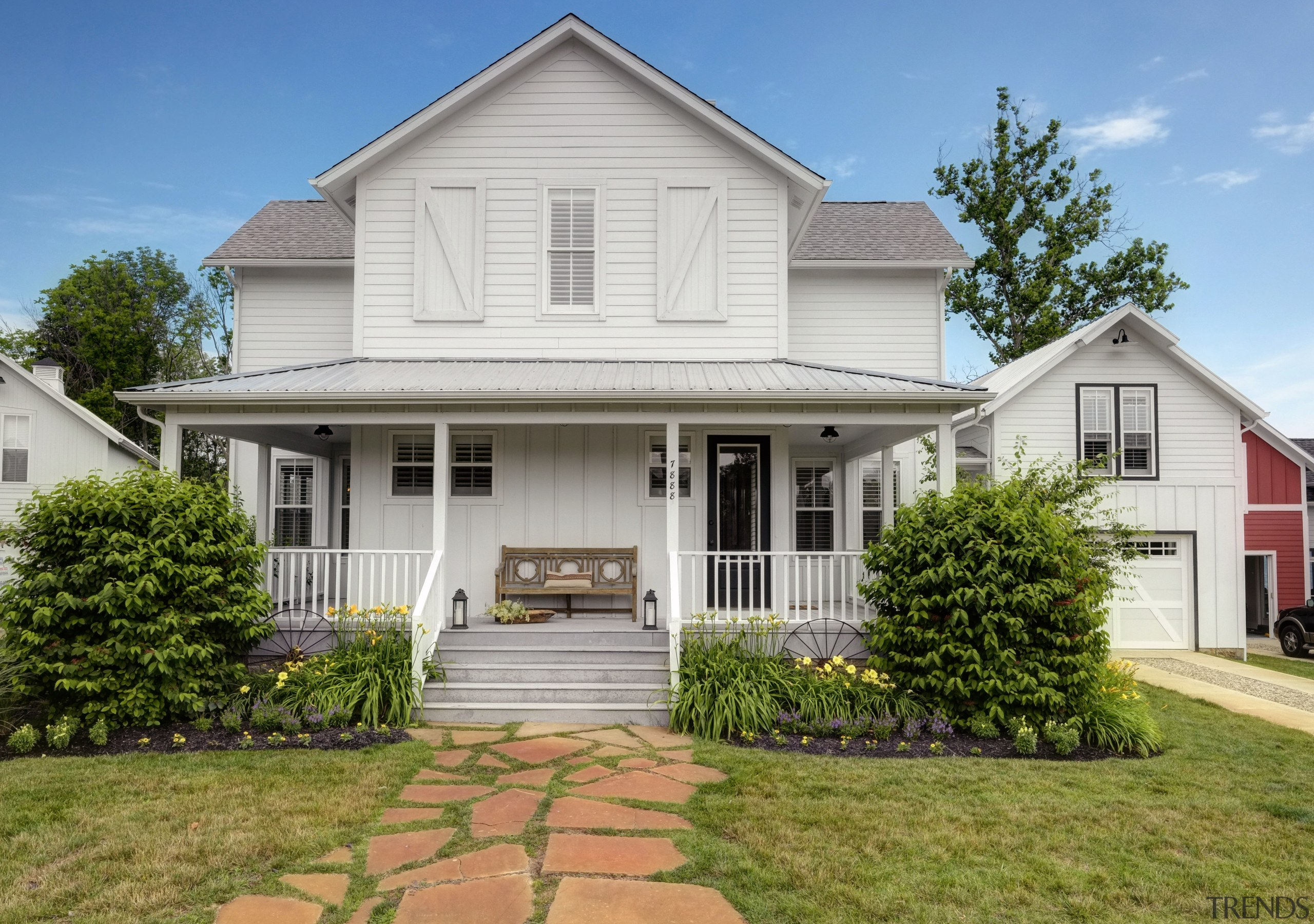 Amish style new home - Amish style new cottage, elevation, estate, facade, farmhouse, historic house, home, house, mansion, property, real estate, residential area, roof, siding, brown