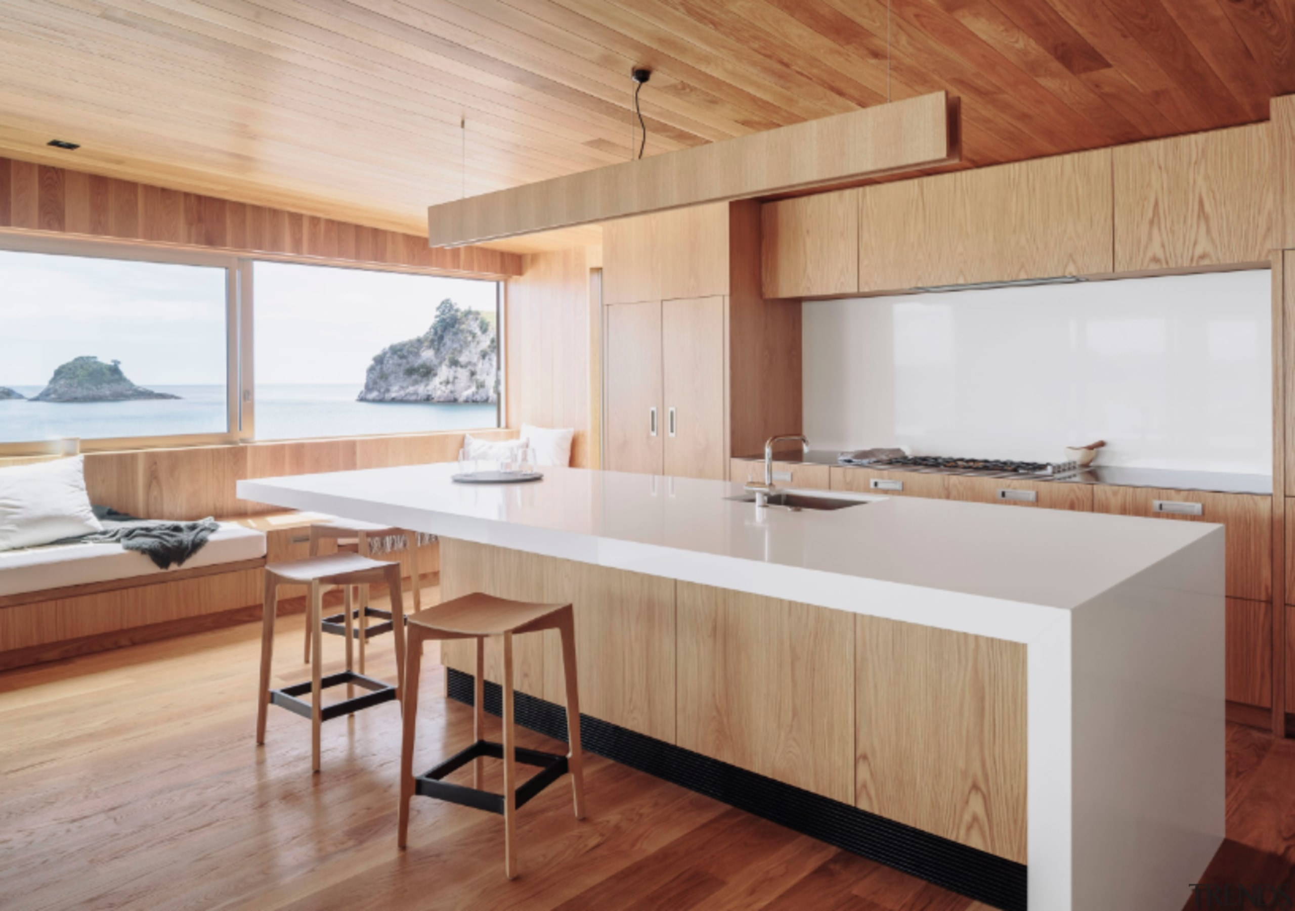 See more here architecture, countertop, floor, furniture, hardwood, house, interior design, kitchen, real estate, table, wood, wood flooring, gray