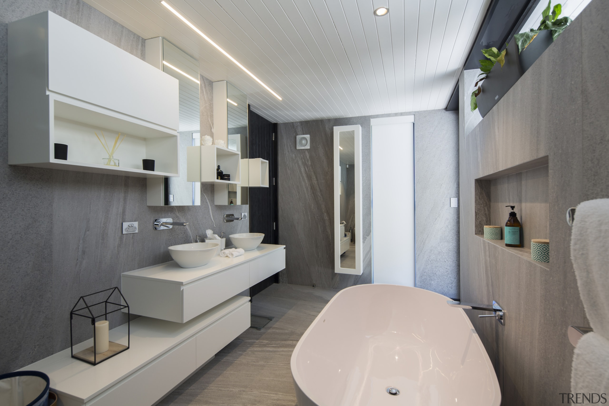 Well connected in Queenstown - architecture | bathroom architecture, bathroom, interior design, real estate, room, gray