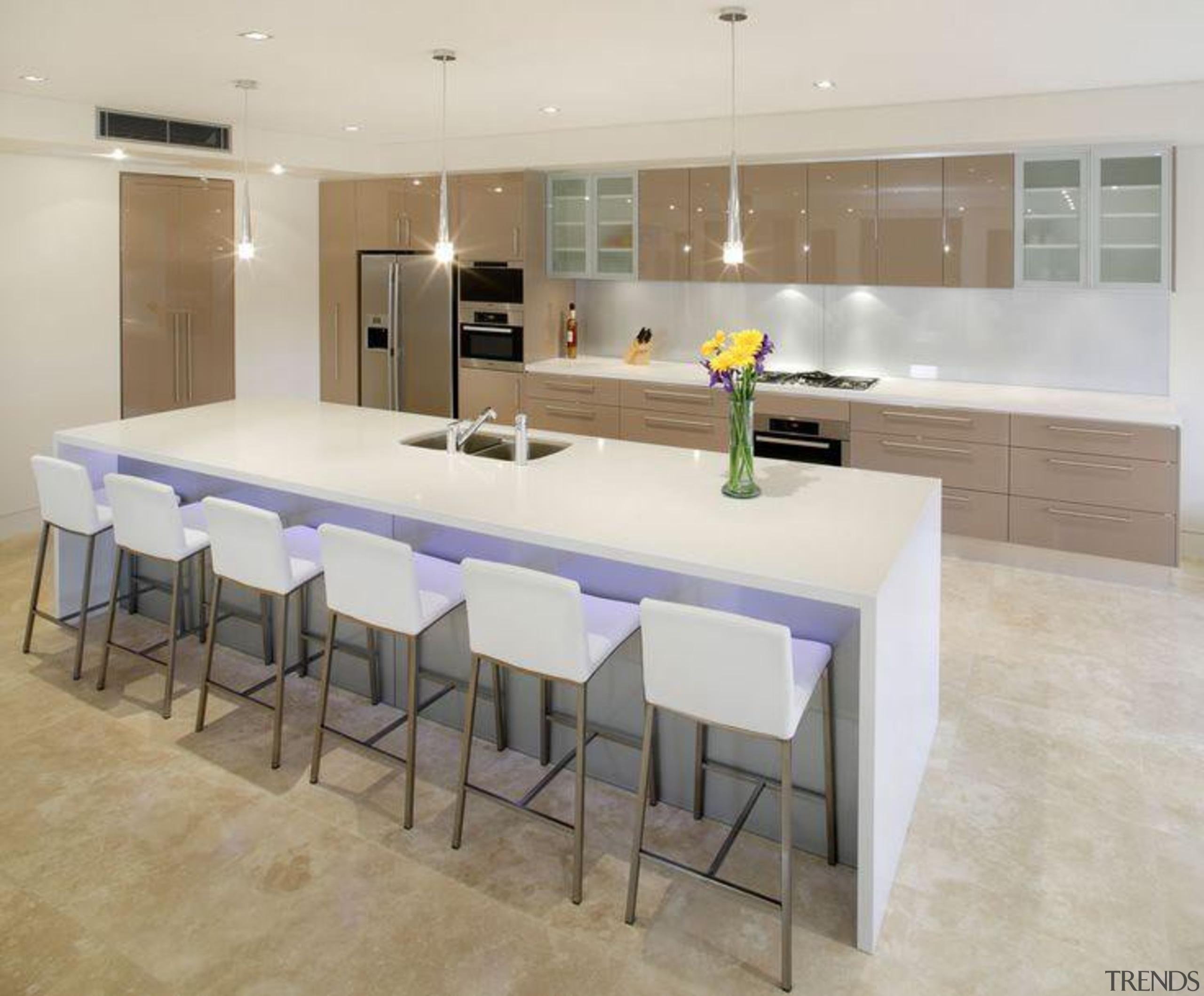 Attard's Kitchens & Cabinetry Osprey - Osprey™ - countertop, floor, flooring, interior design, kitchen, real estate, room, table, tile, gray