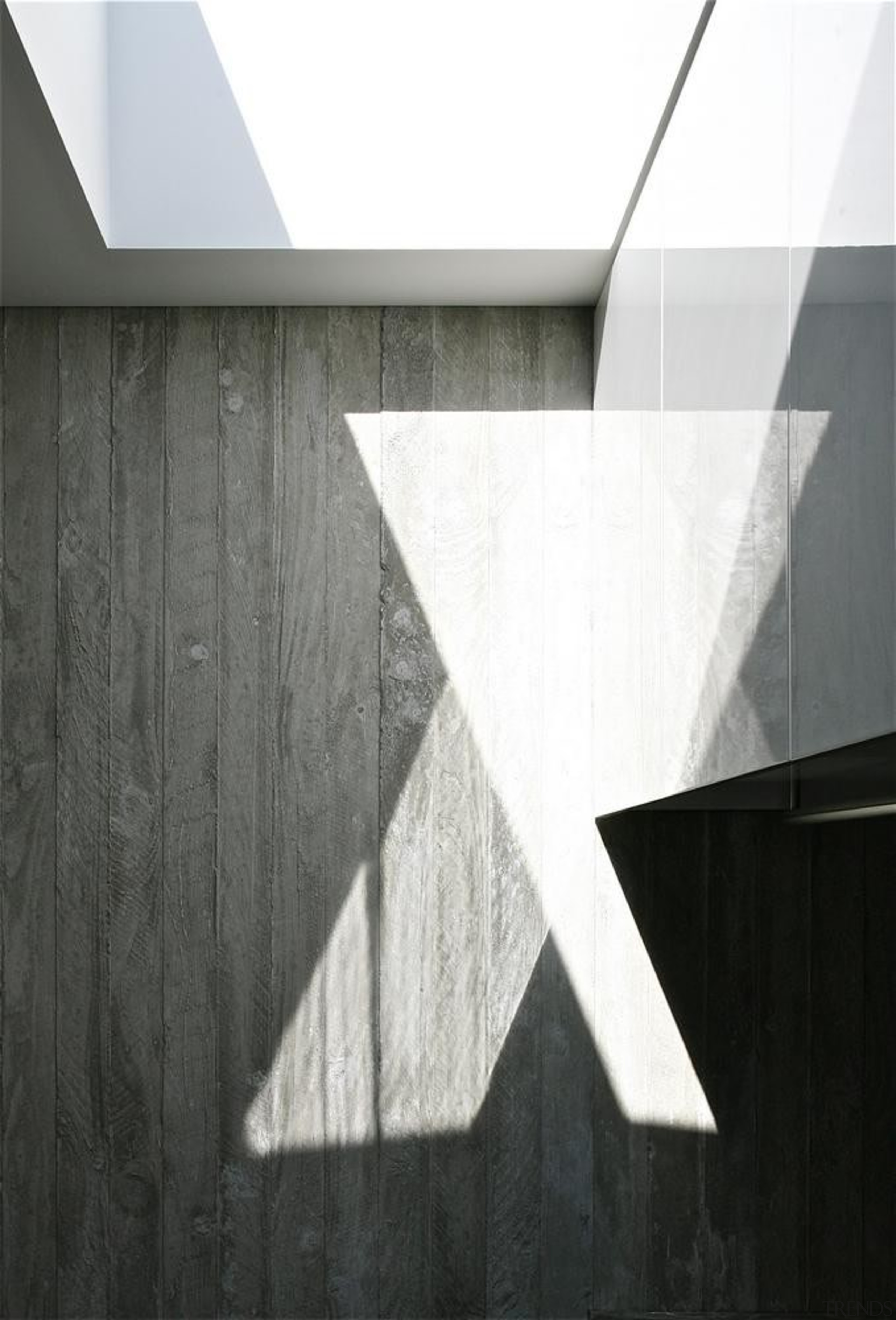 Christchurch House - Christchurch House - angle   angle, architecture, black, black and white, daylighting, light, line, monochrome, monochrome photography, product design, structure, wall, wood, white, black