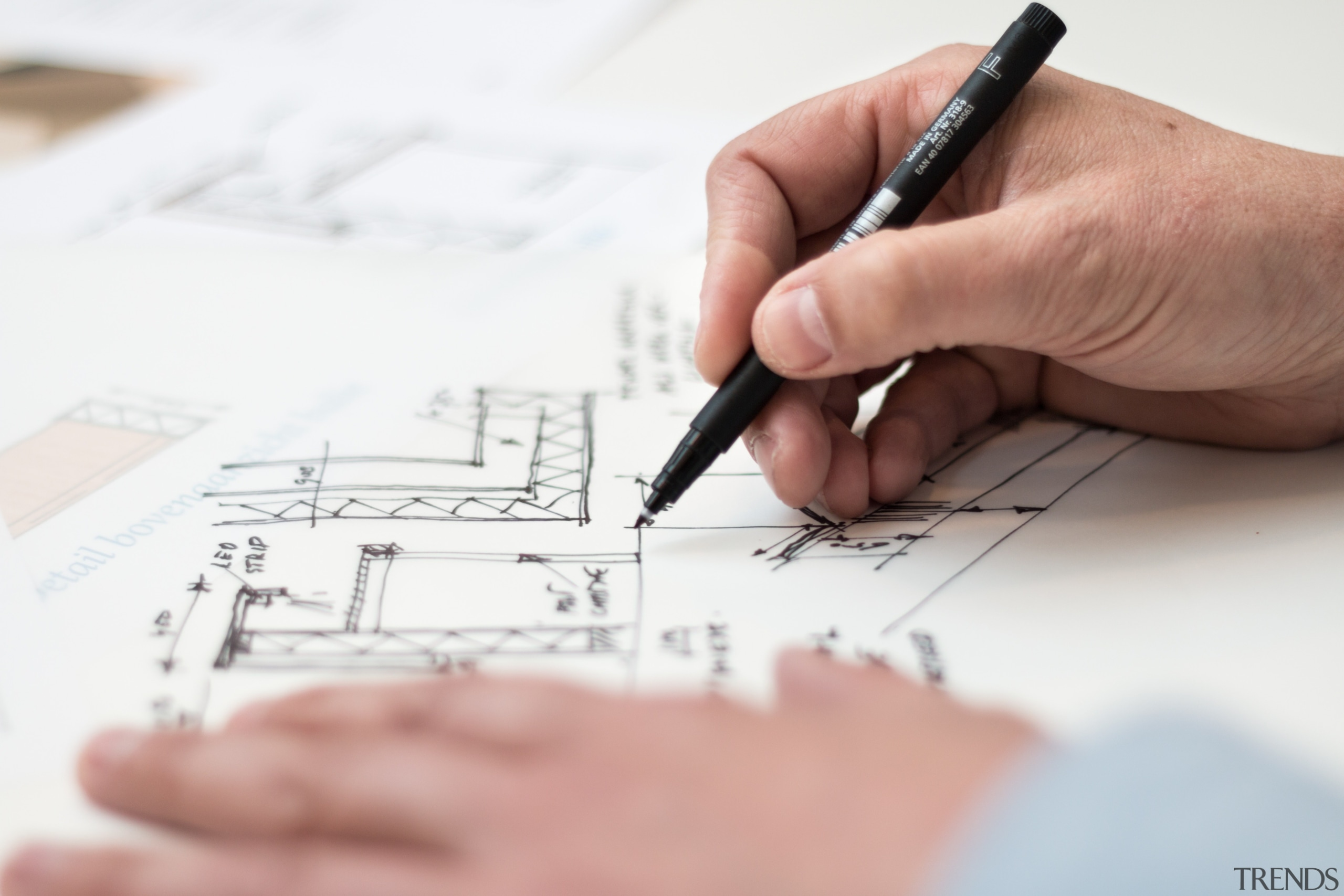 Make a loose plan and do some rough architecture, design, diagram, drawing, engineering, font, hand, line, sketch, technical drawing, text, writing, white