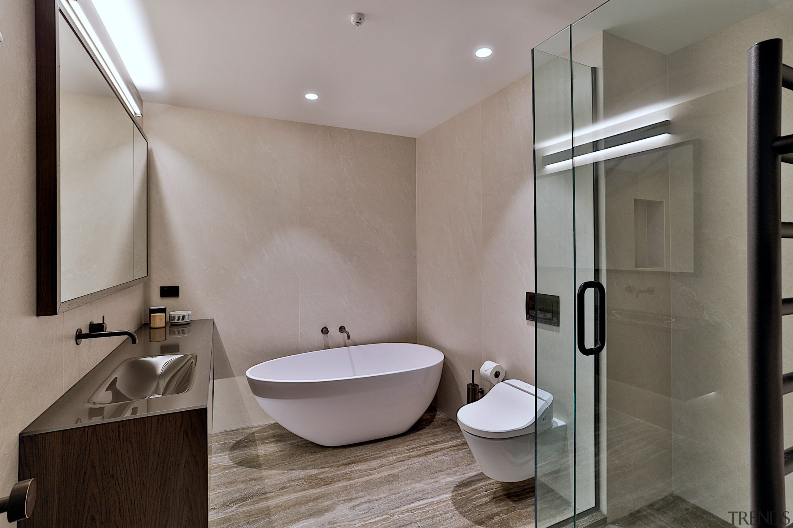 For this bathroom, the owner wanted a complete