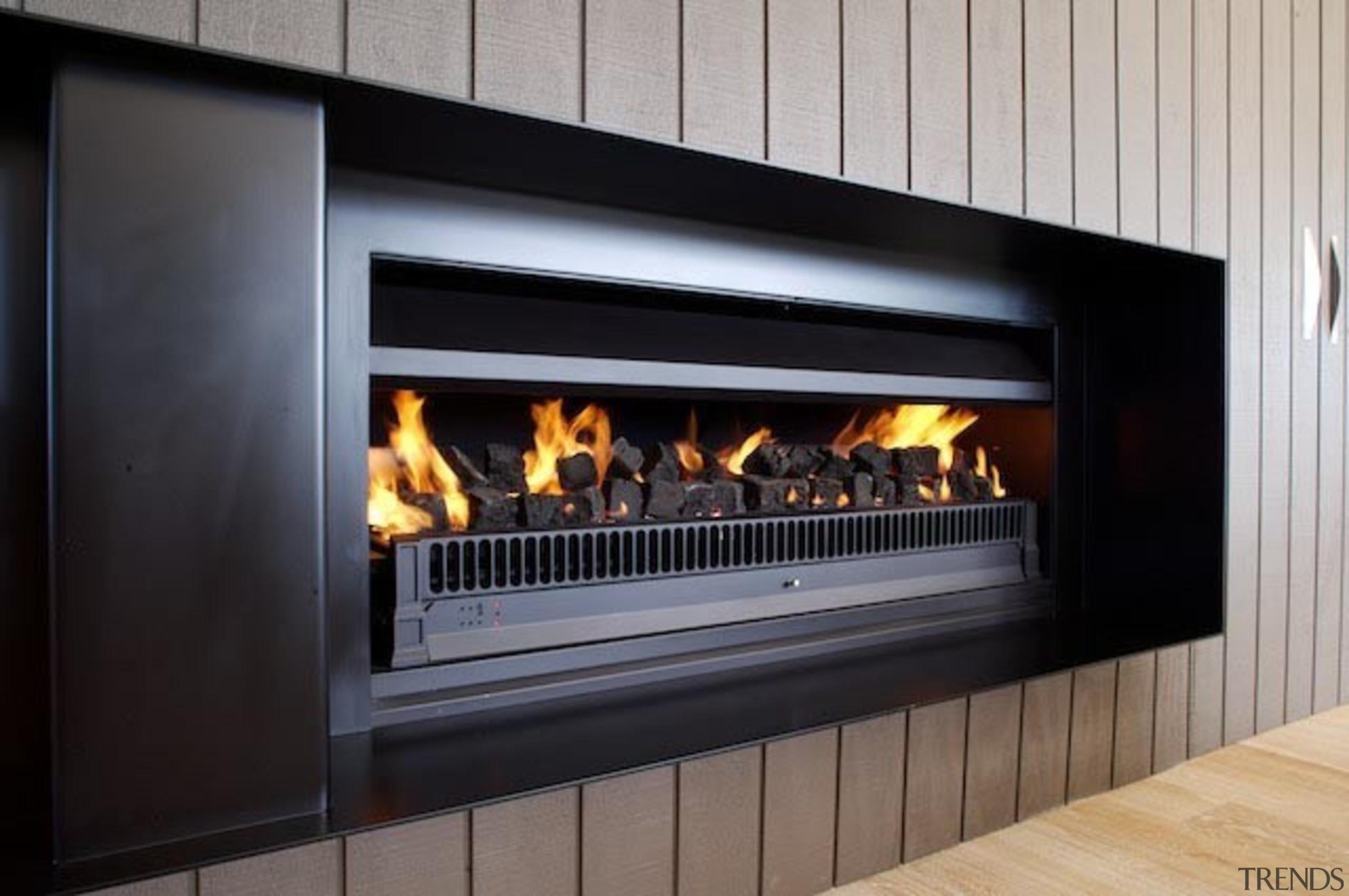 Electronic Gas 1500 - Electronic Gas 1500 - fireplace, hearth, heat, wood burning stove, black, gray