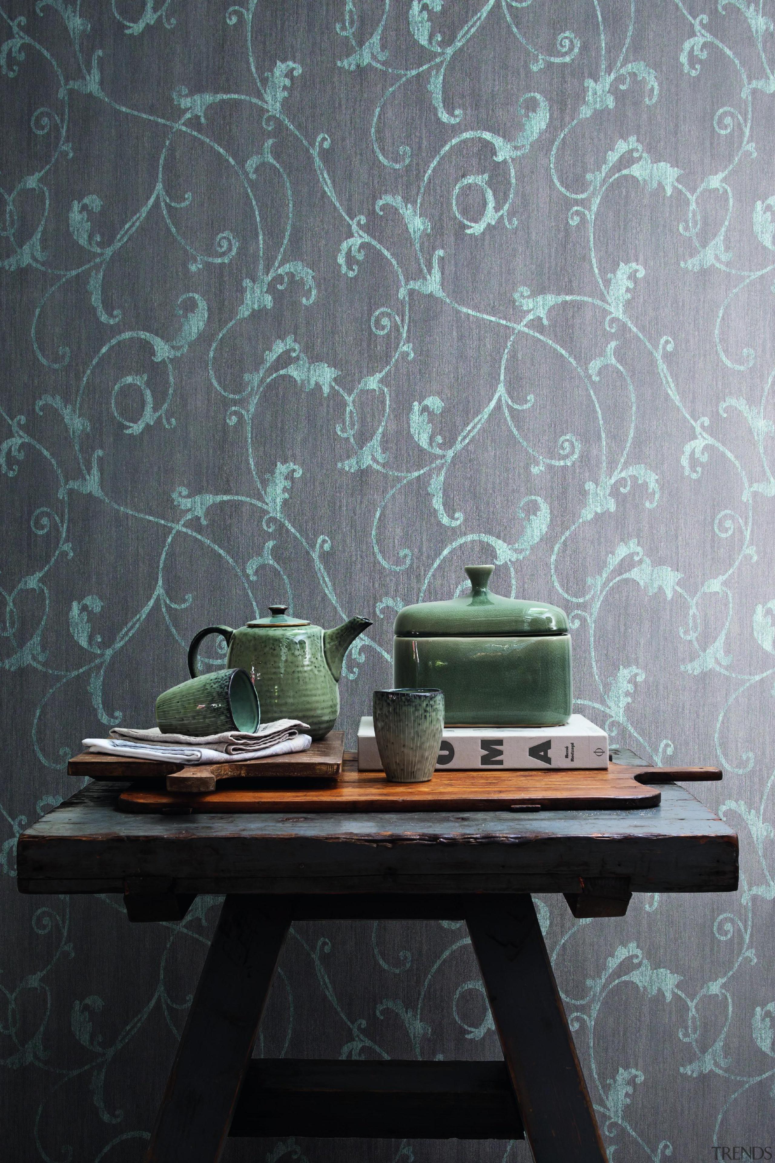 Camarque Range - Camarque Range - green   green, interior design, still life, still life photography, wall, wallpaper, gray, black