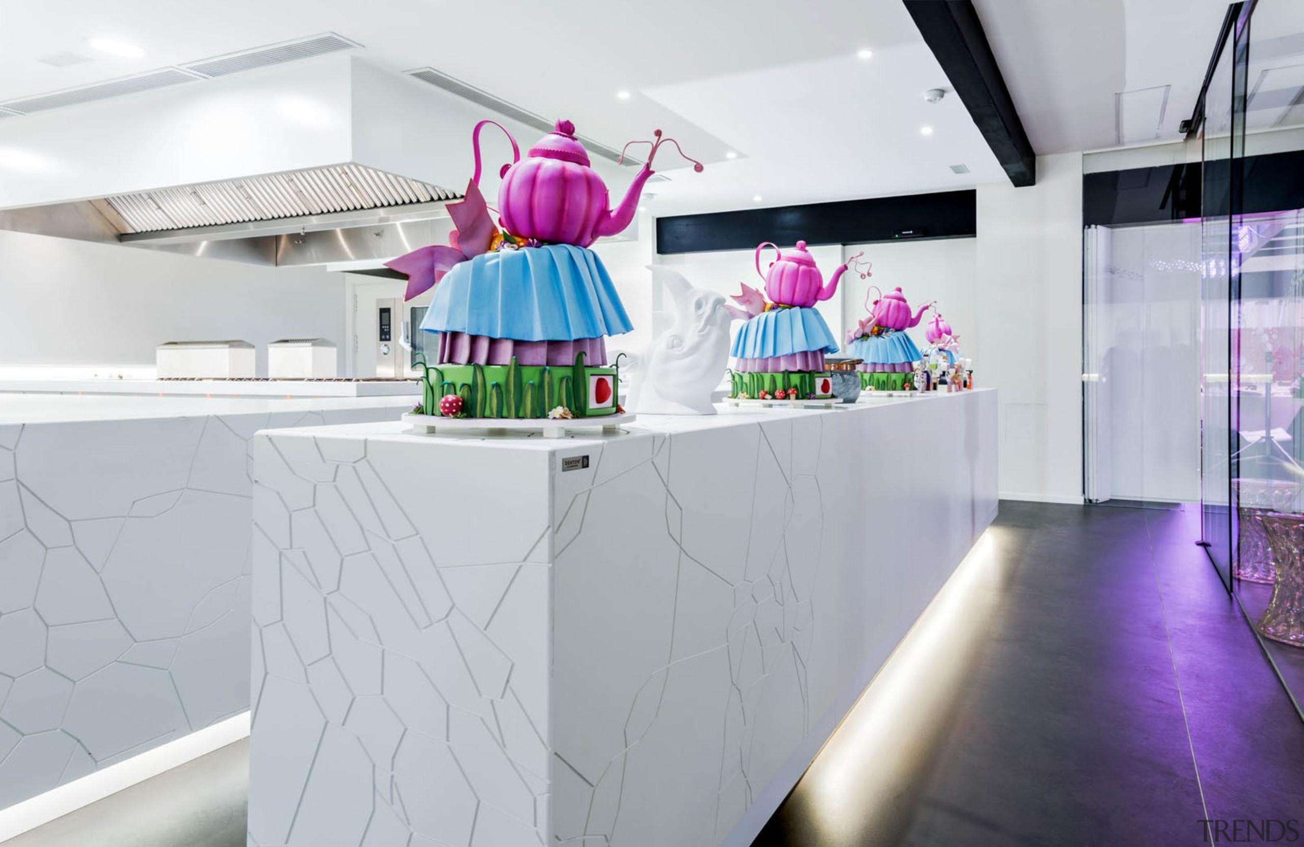 DEKTON ZENITH Rest Dani García 1 - DEKTON design, interior design, product design, purple, gray, white