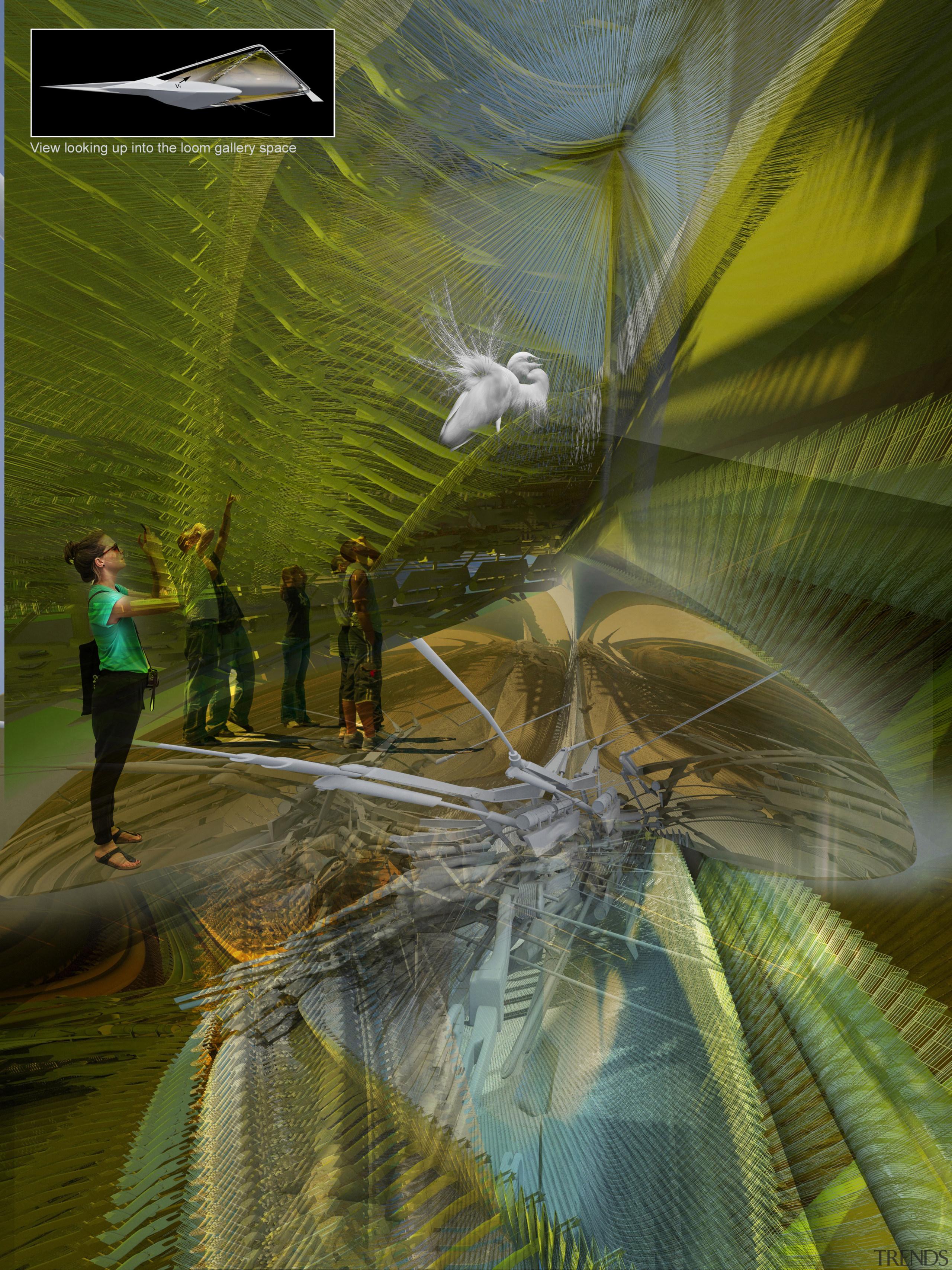 Love birds? Love futuristic design solutions? The two