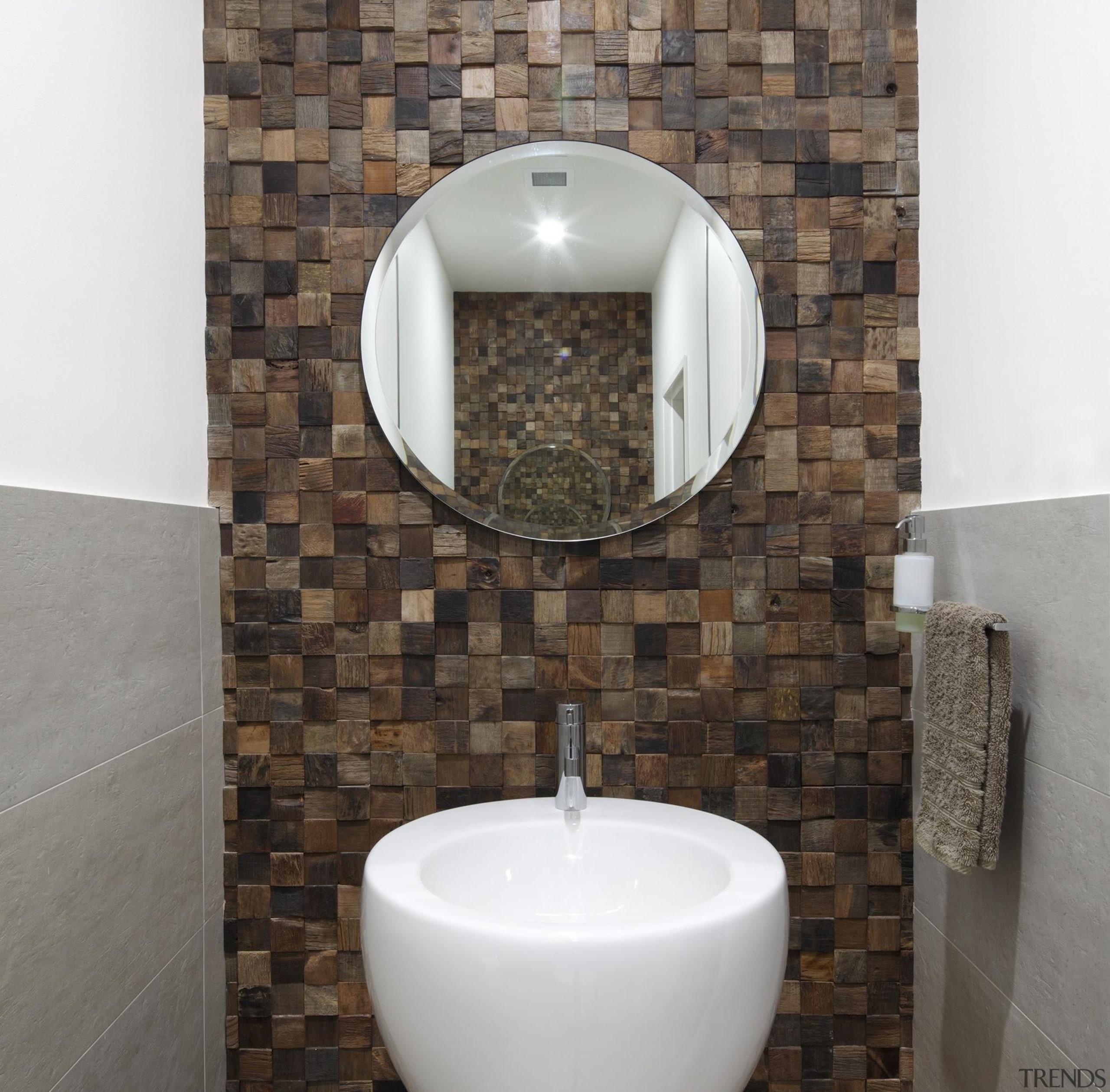 Brindabella Bathrooms - Winner of HIA Bathroom Design bathroom, ceramic, floor, plumbing fixture, sink, tap, tile, toilet, toilet seat, wall, gray, white, black