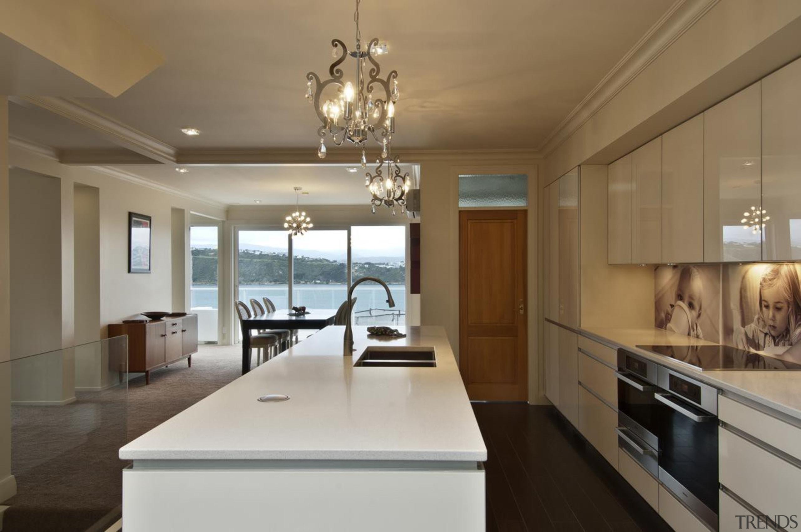 Hataitai Kitchen - Hataitai Kitchen - ceiling | ceiling, countertop, cuisine classique, interior design, kitchen, real estate, room, window, brown, gray