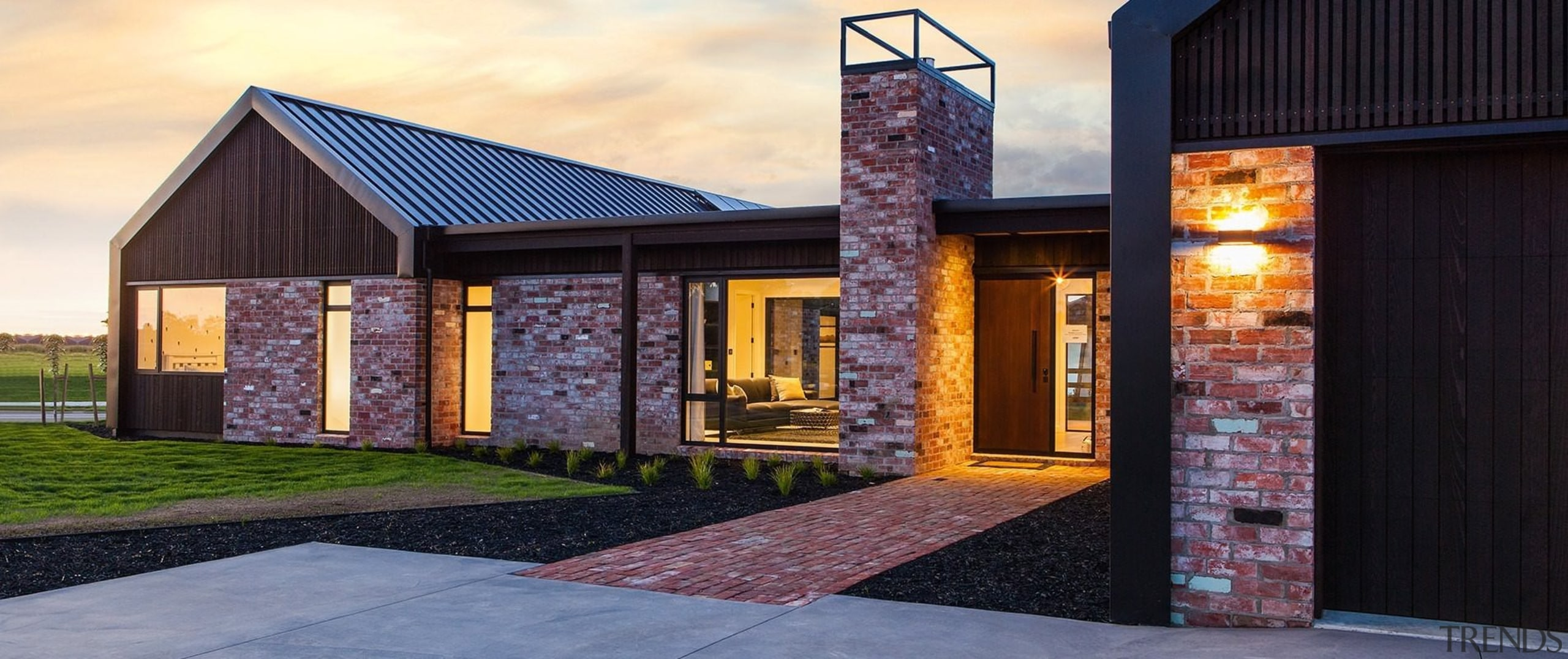 2017 House of the Year Entrants - 2017 architecture, facade, home, house, property, real estate, shed, siding, window, black