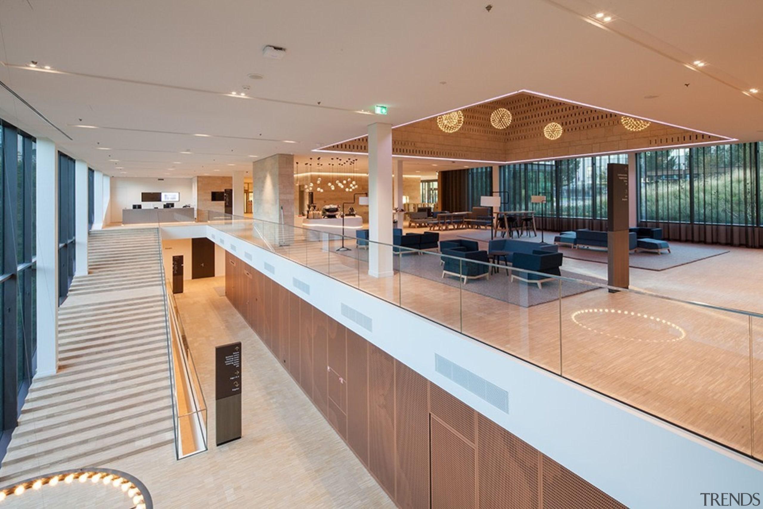 Eurojust - estate | interior design | leisure estate, interior design, leisure centre, lobby, real estate, gray