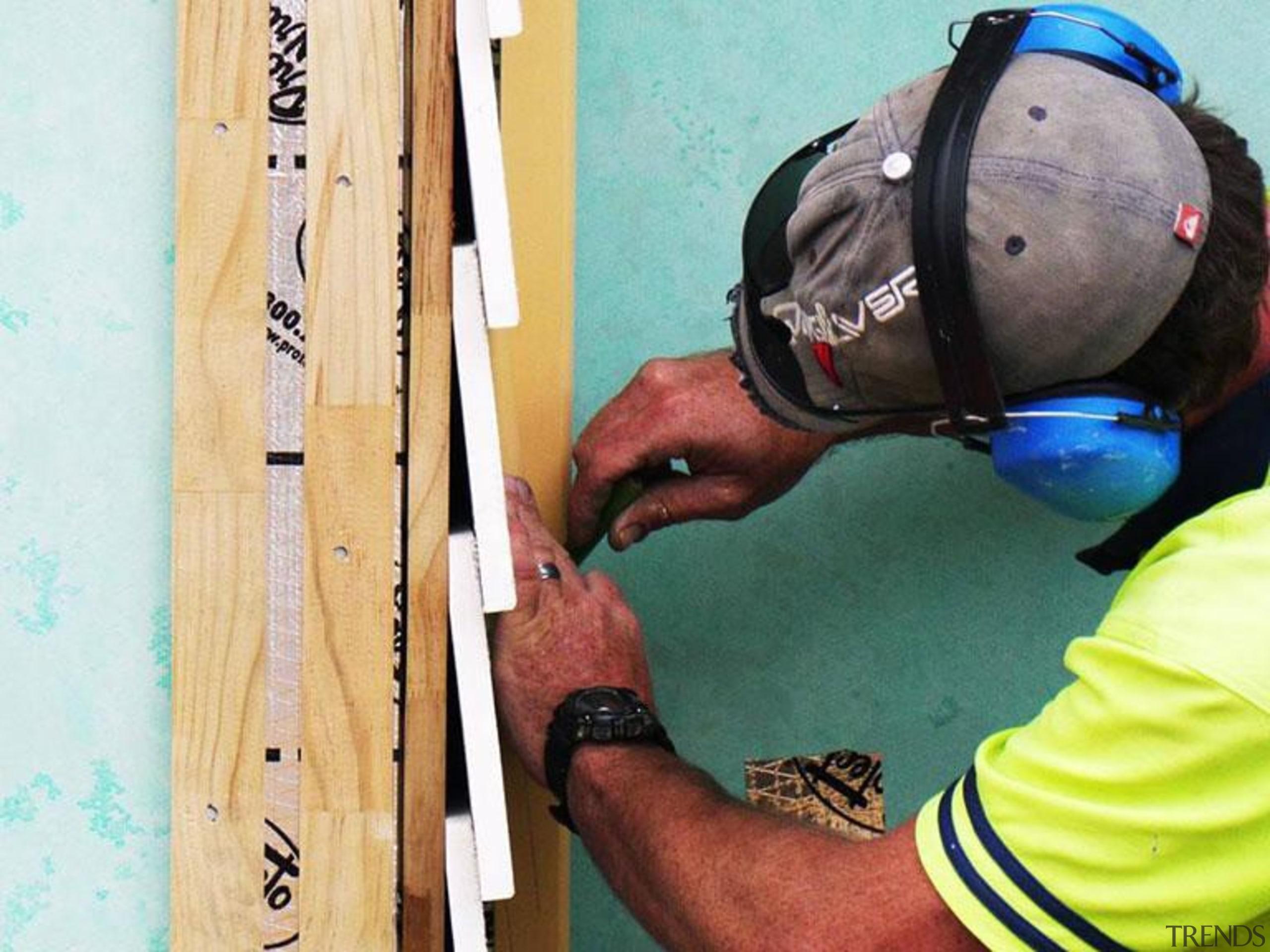 RAB pre - Cladding 1 - RAB pre wood, white