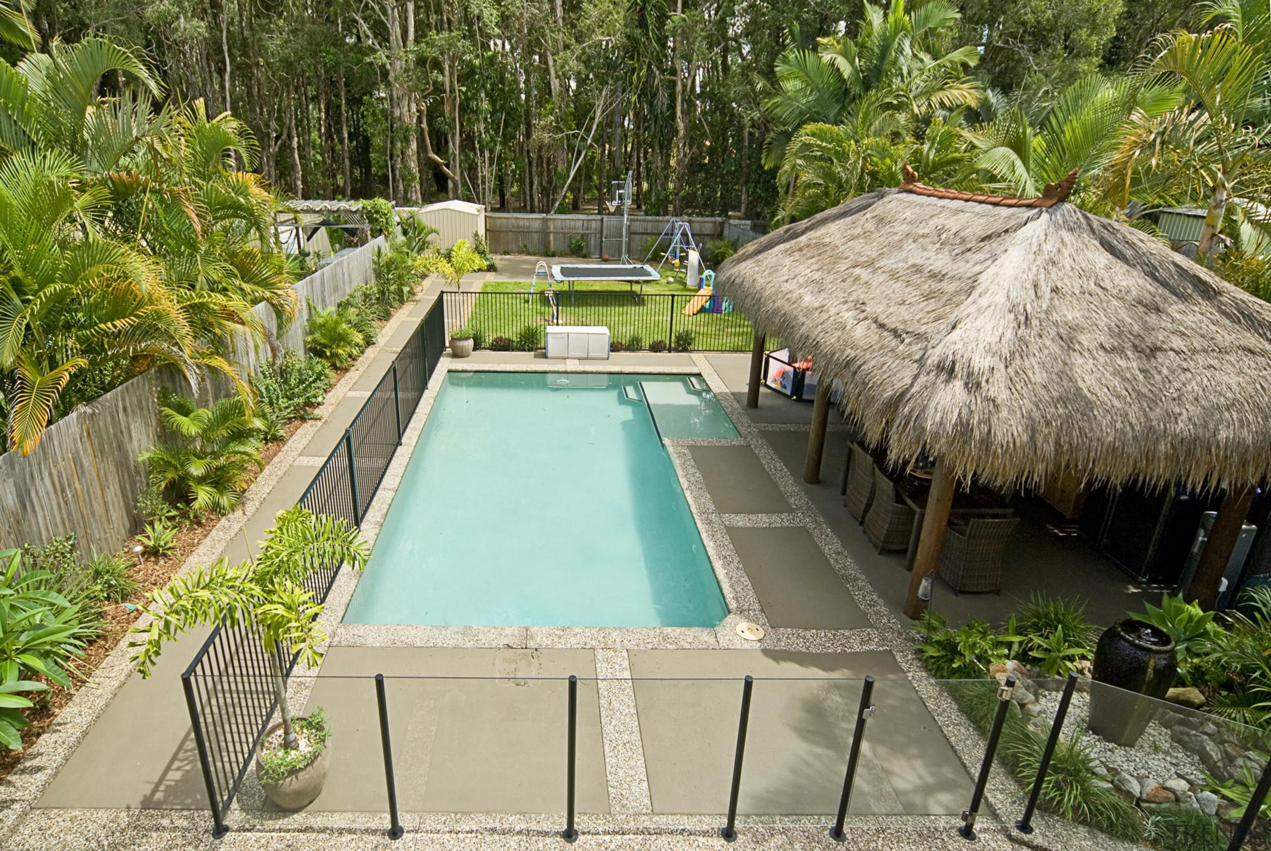 Colourmix 42 - Colourmix_42 - arecales   estate arecales, estate, leisure, property, real estate, resort, swimming pool, brown