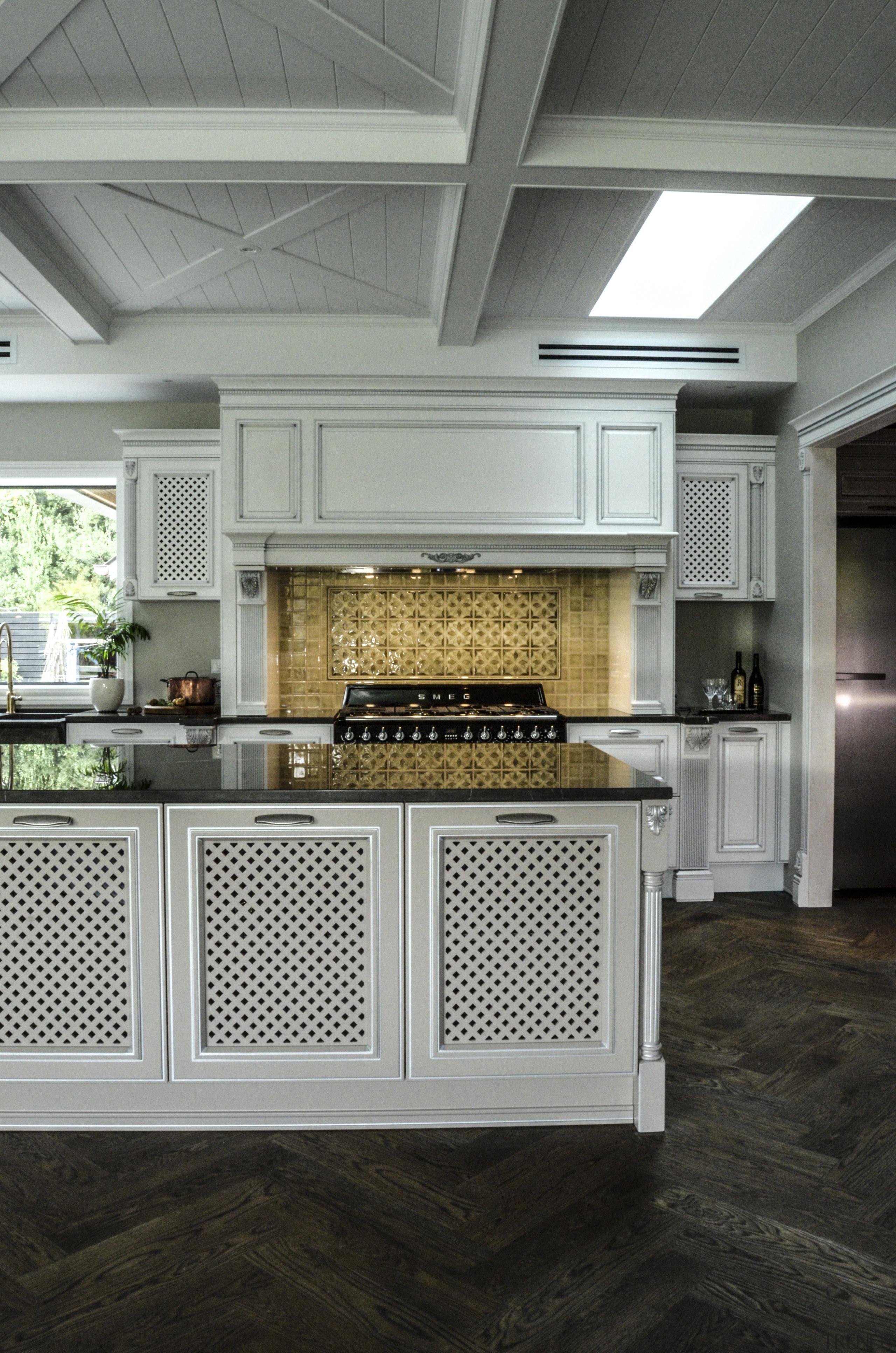 Goodland Residence 5 - Goodland Residence 5 - cabinetry, countertop, cuisine classique, floor, flooring, interior design, kitchen, gray, black
