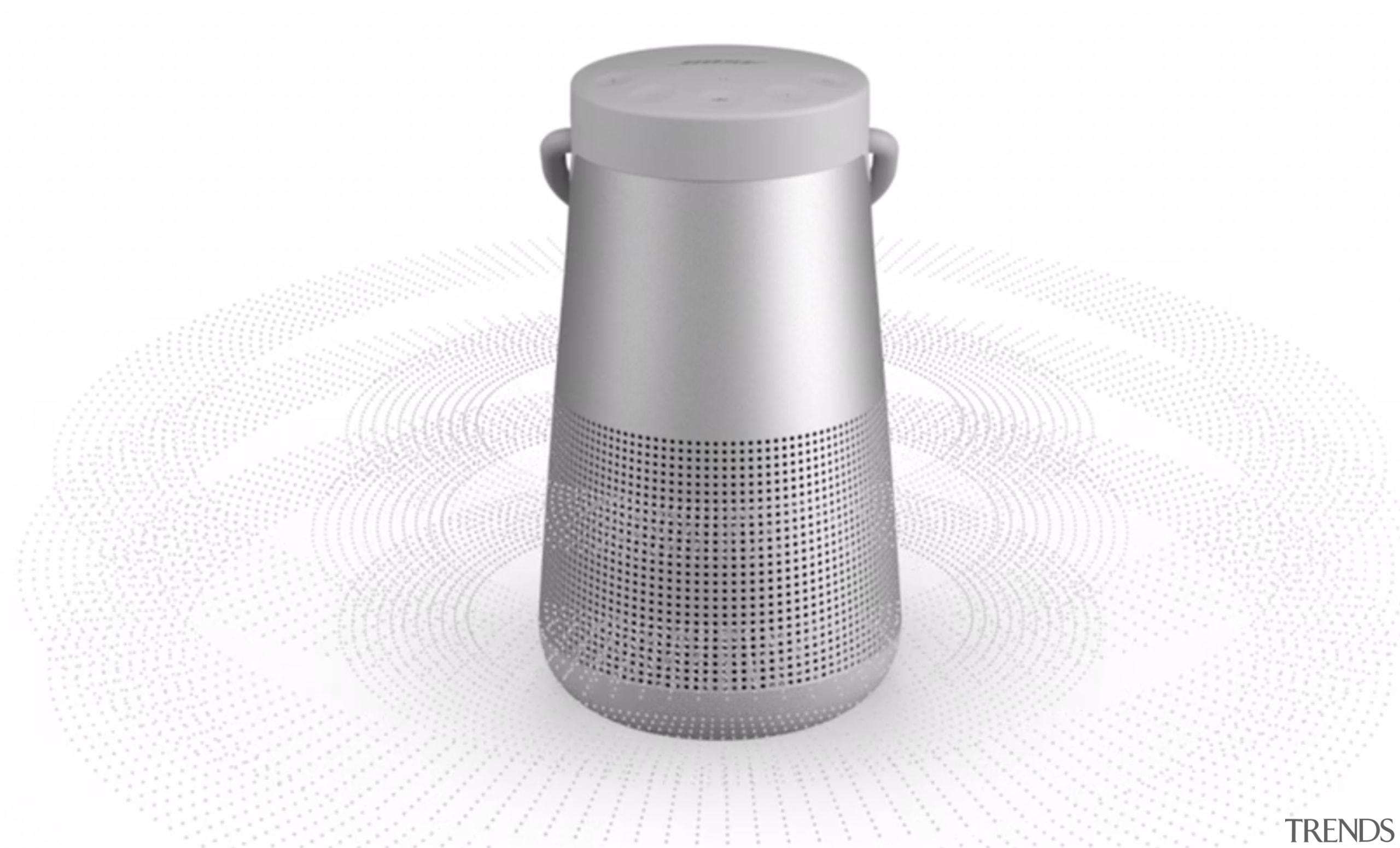 Bose Soundlink Revolve+ Wireless Speaker - Bose Soundlink cylinder, hardware, product, white