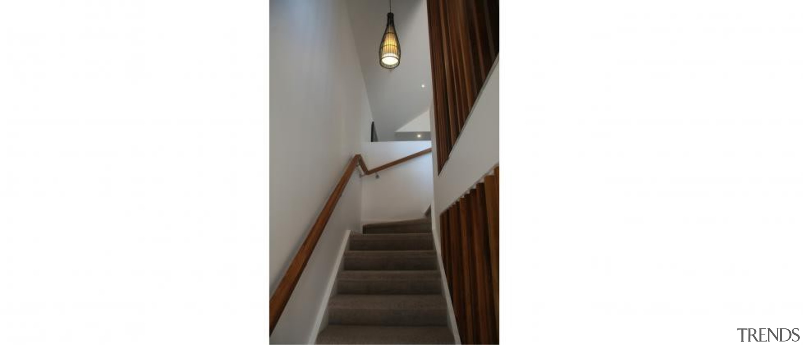 Multi unit design by Design House Architecture - lighting, product design, stairs, wood, white