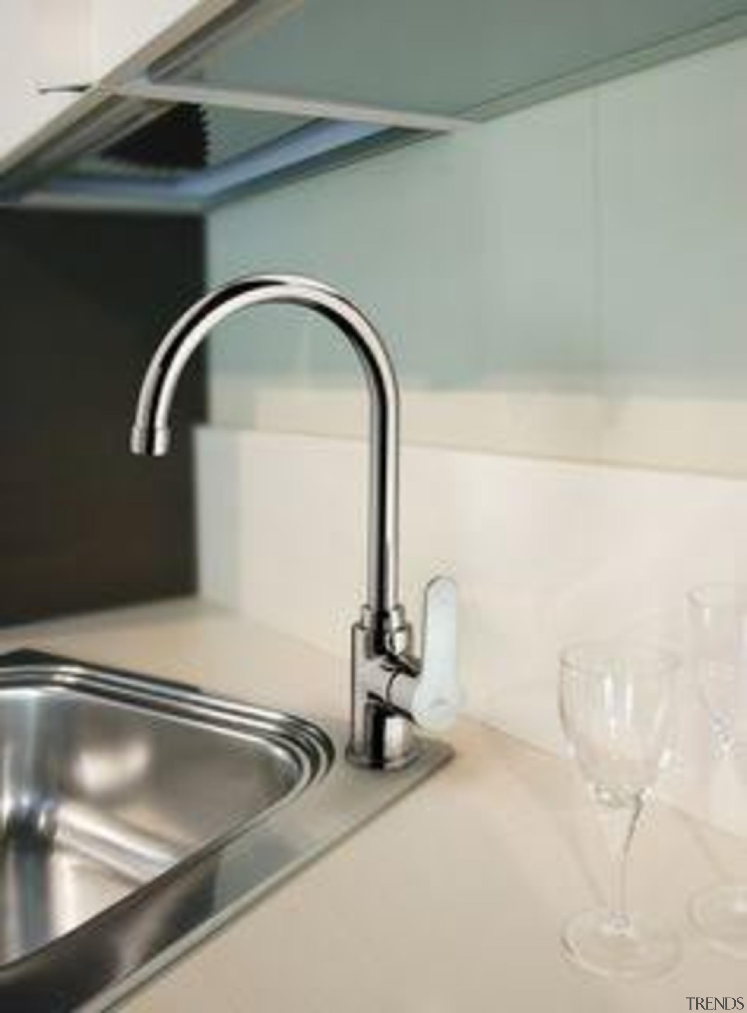 Paffoni Blu Sink Gooseneck Kitchen Mixer - My bathroom sink, countertop, plumbing fixture, product design, sink, tap, white, gray
