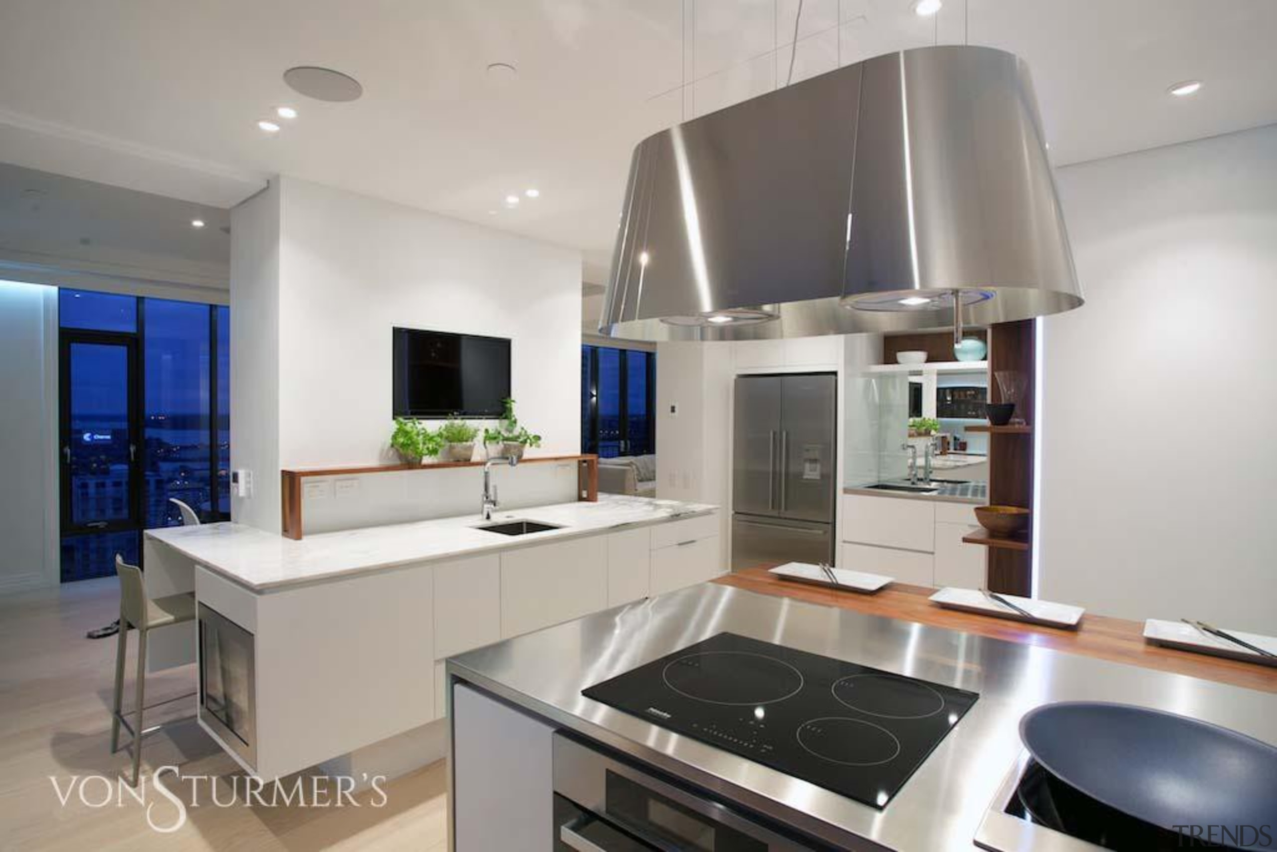 Downtown Penthouse Living - Downtown Penthouse Living - countertop, interior design, interior designer, kitchen, property, real estate, gray