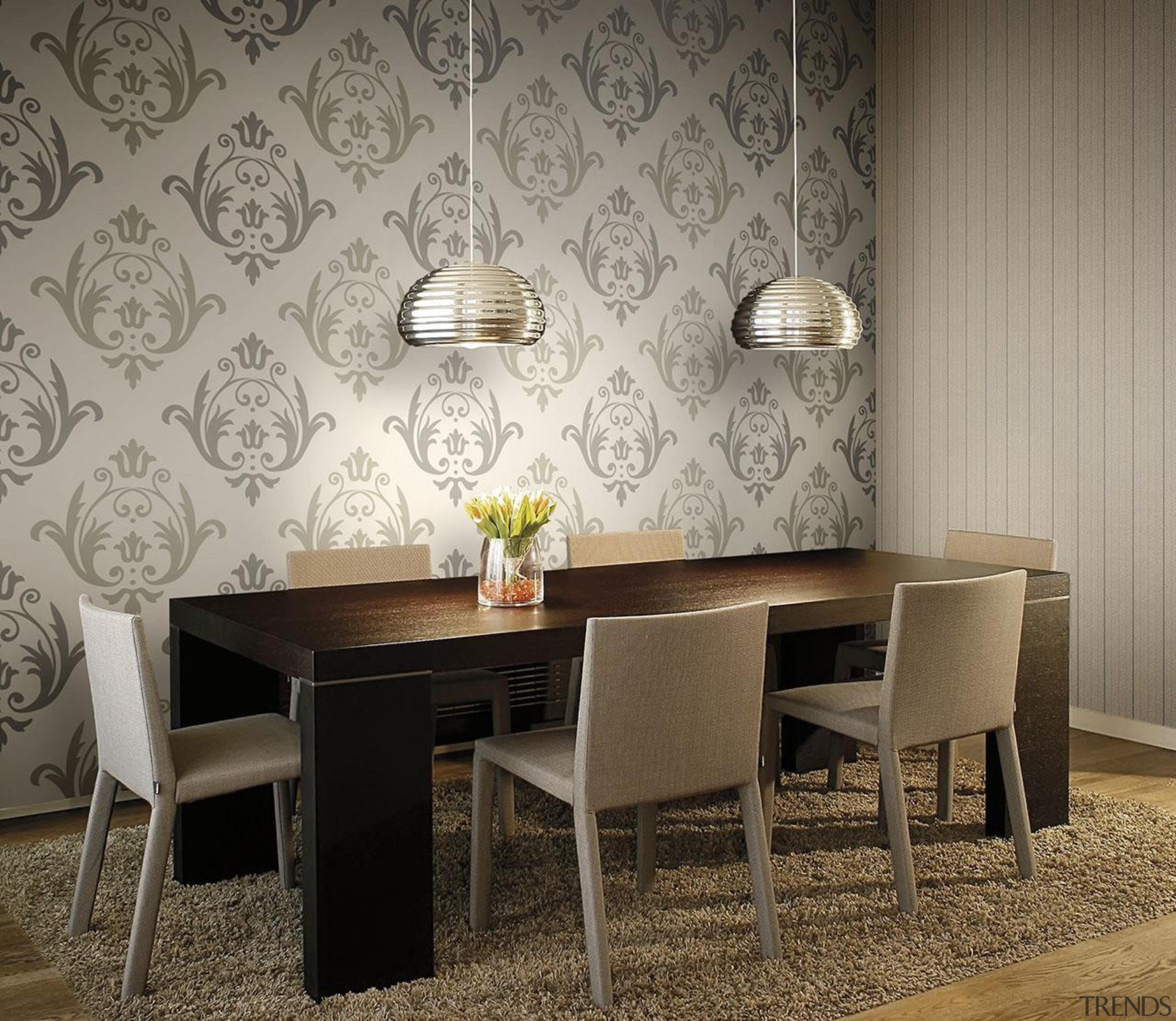 Aurora Range - Aurora Range - ceiling | ceiling, chair, dining room, floor, flooring, furniture, interior design, room, table, wall, wallpaper, gray