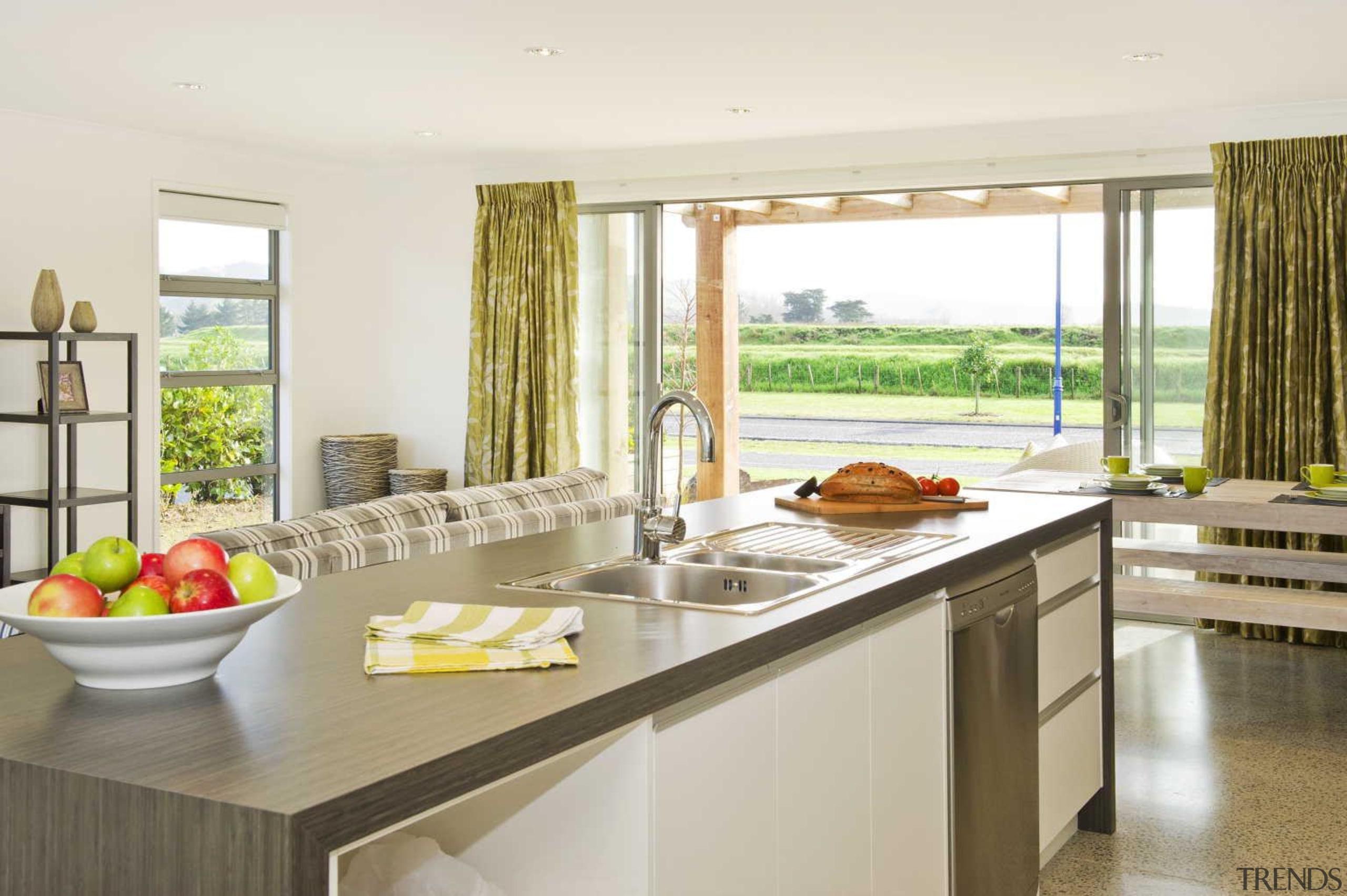 Kitchen - countertop | interior design | kitchen countertop, interior design, kitchen, property, real estate, window, white