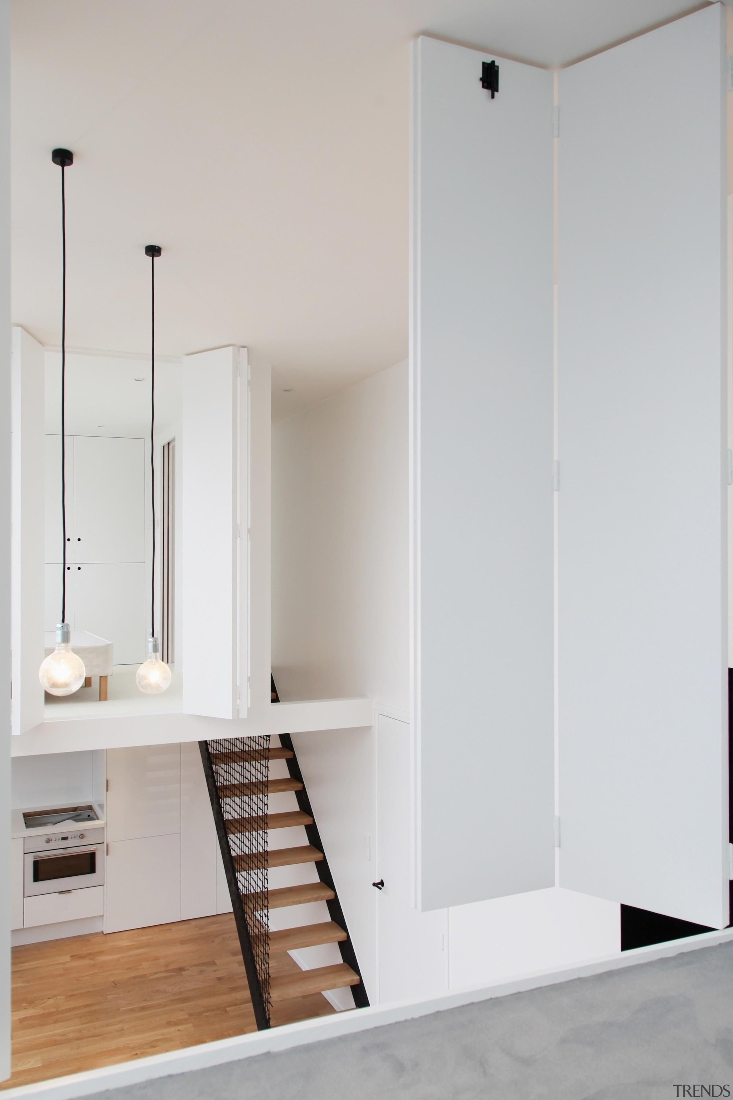 Architect: jbmn architectesPhotographer: Hermann Wendler architecture, floor, home, interior design, room, wall, wood, gray