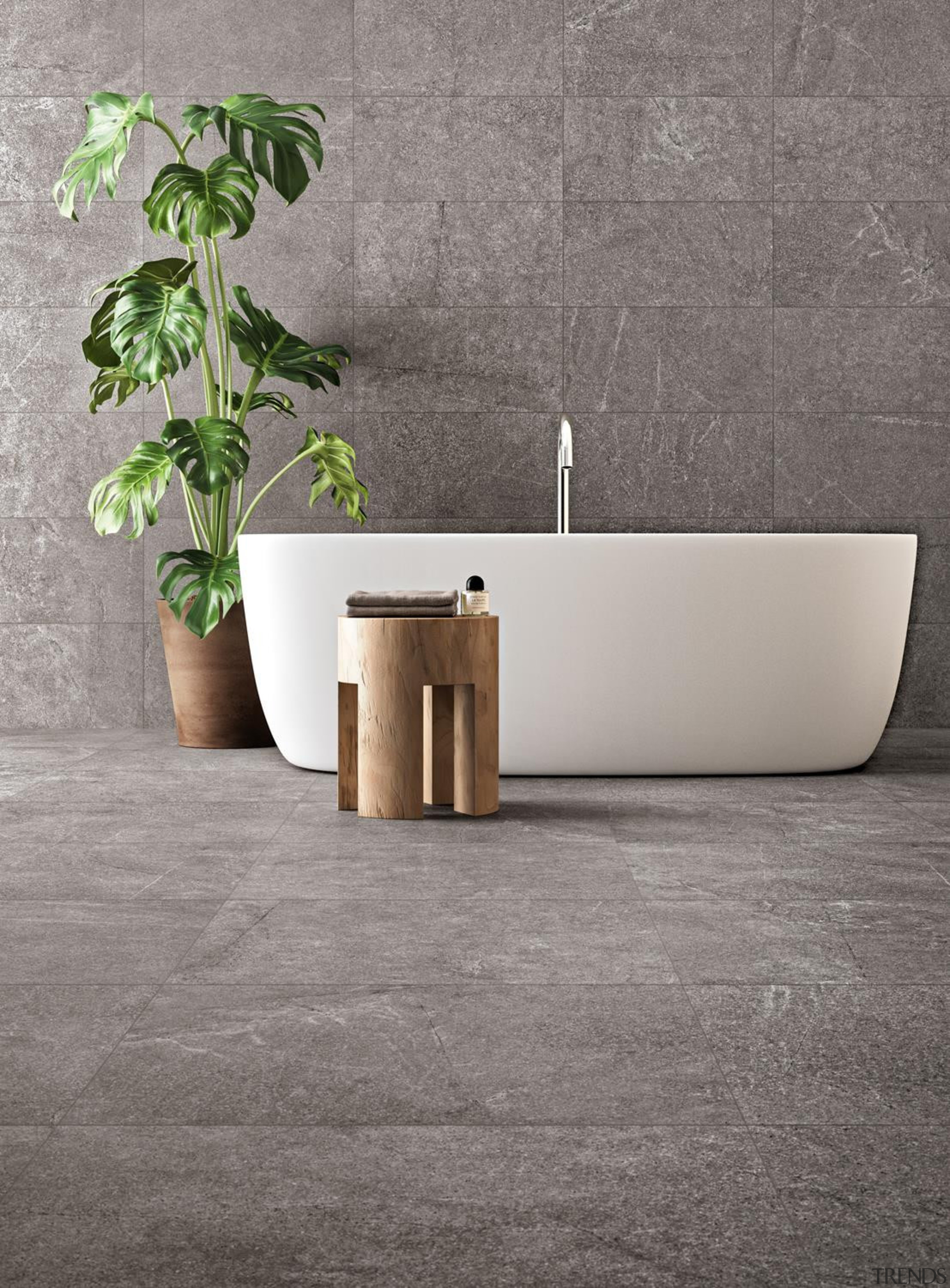 Horizon features an antibacterial shield which eliminates up angle, ceramic, floor, flooring, flowerpot, furniture, plumbing fixture, table, tap, tile, wall, gray