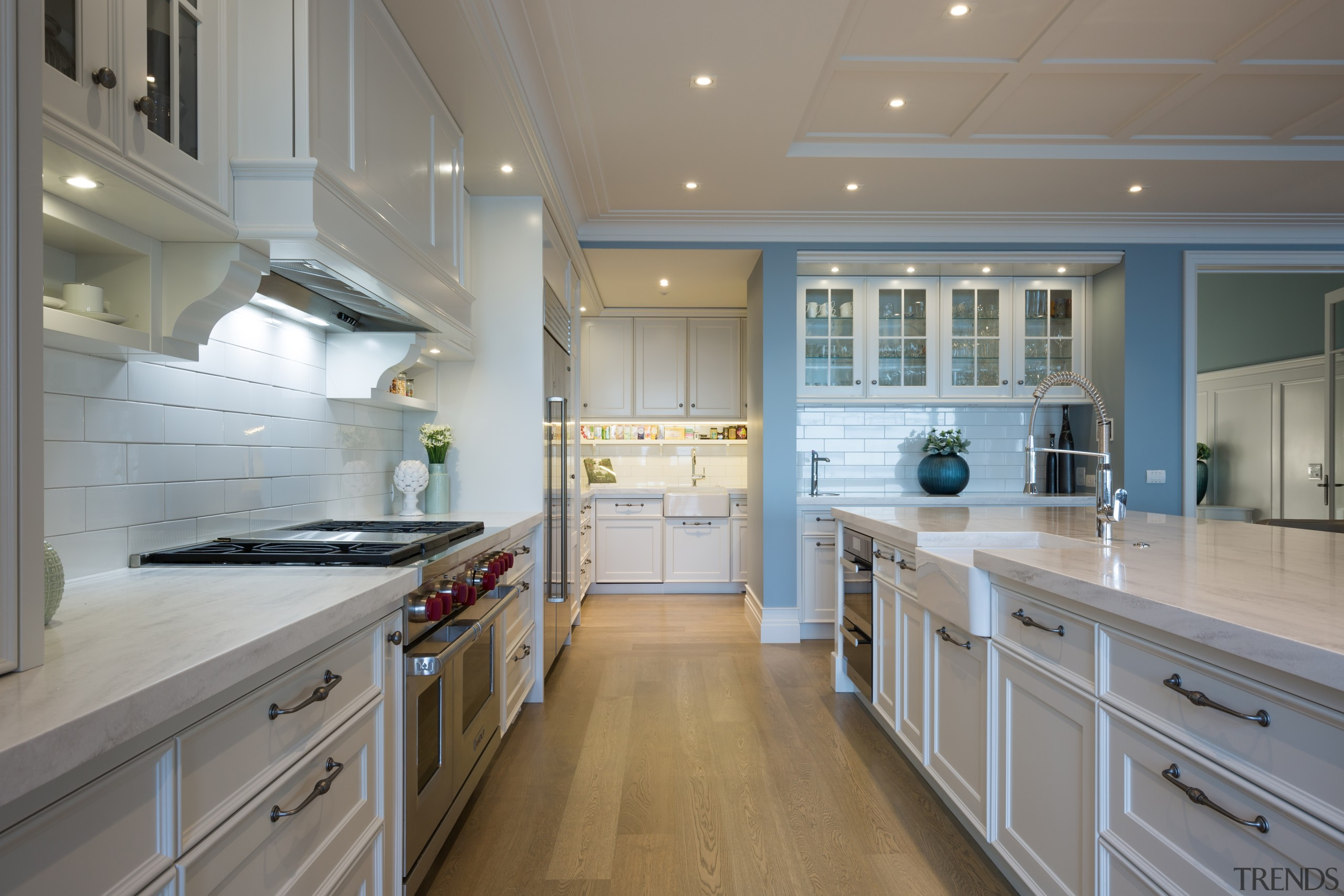 Campbells Bay - cabinetry | countertop | cuisine cabinetry, countertop, cuisine classique, floor, flooring, hardwood, interior design, kitchen, room, gray