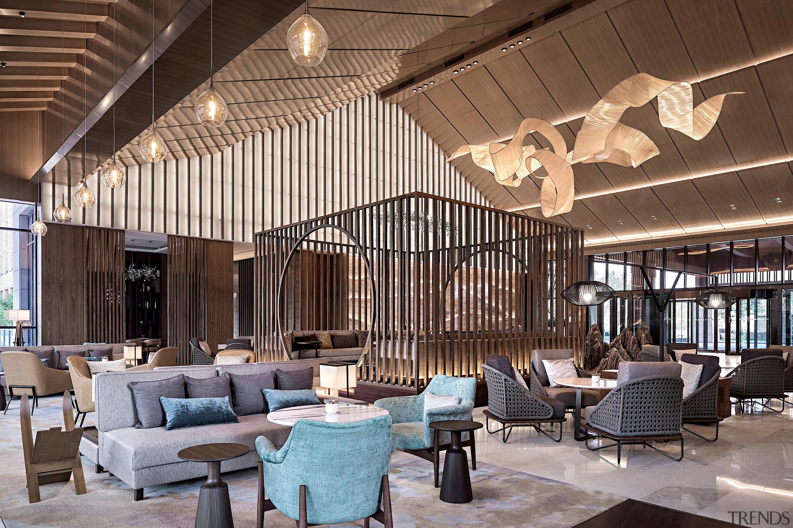 The Lobby Lounge at the Hyatt Regency Beijing