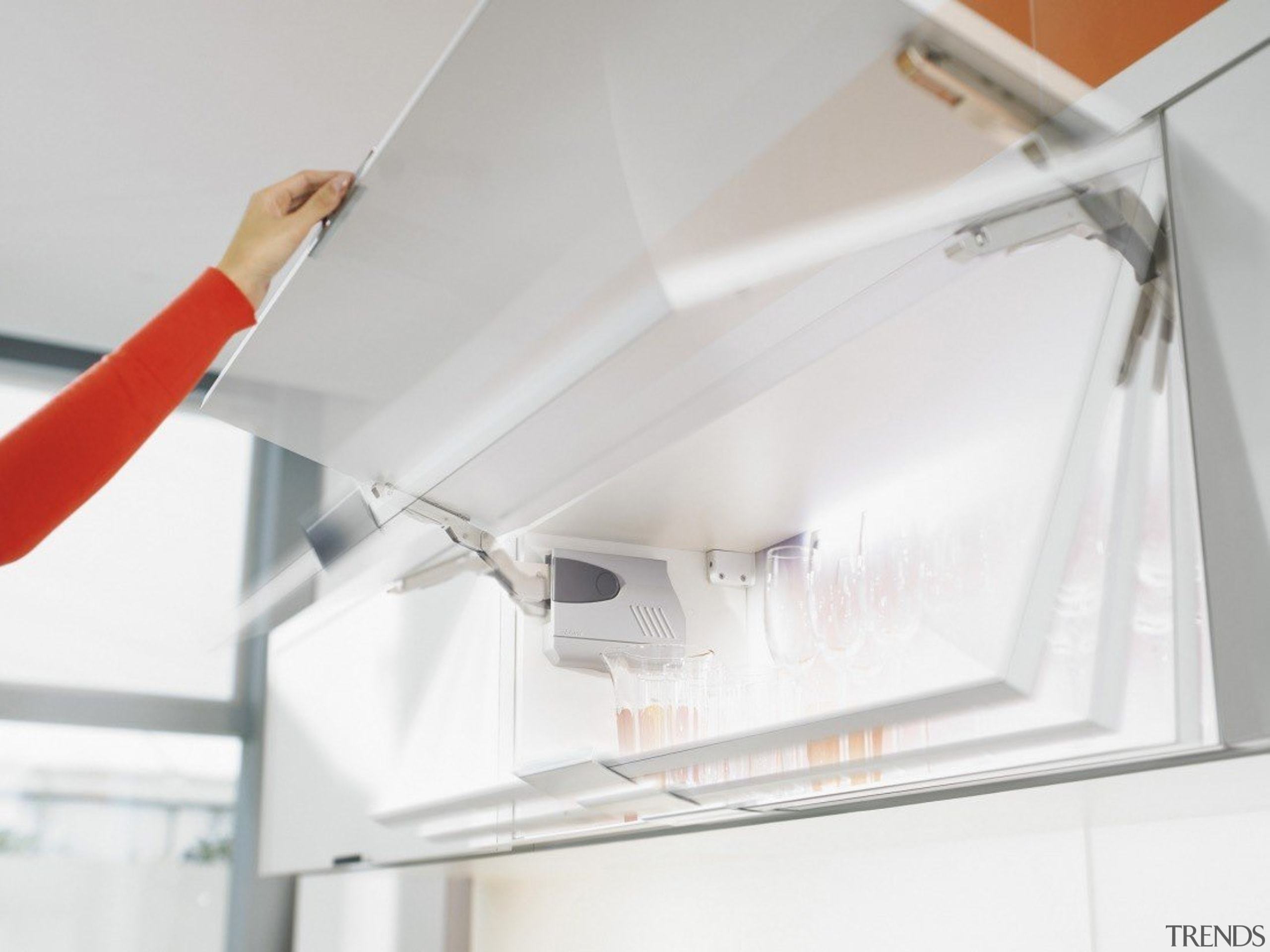 Stay Lift System - AVENTOS HK - ceiling ceiling, lighting, white