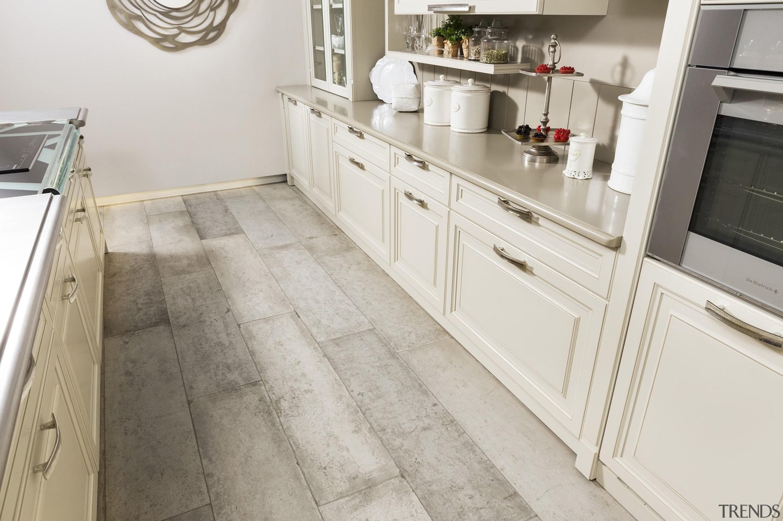 Circle kitchen 2 - Circle kitchen_2 - countertop countertop, cuisine classique, floor, flooring, hardwood, kitchen, laminate flooring, room, tile, wood flooring, gray